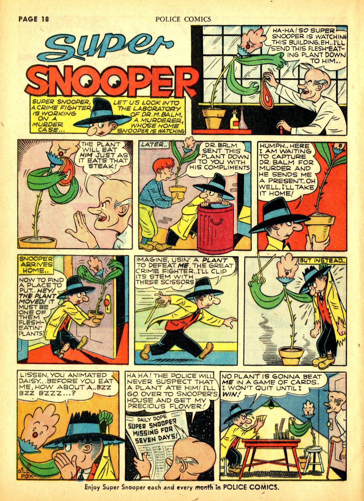 Police Comics #1 #127 - English 21