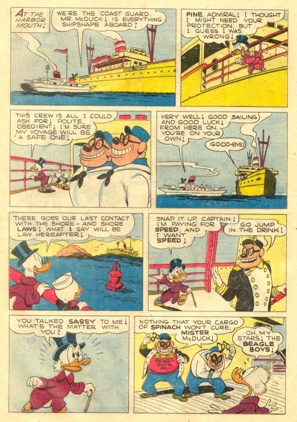 Uncle Scrooge (1953) Issue #4 #4 - English 12