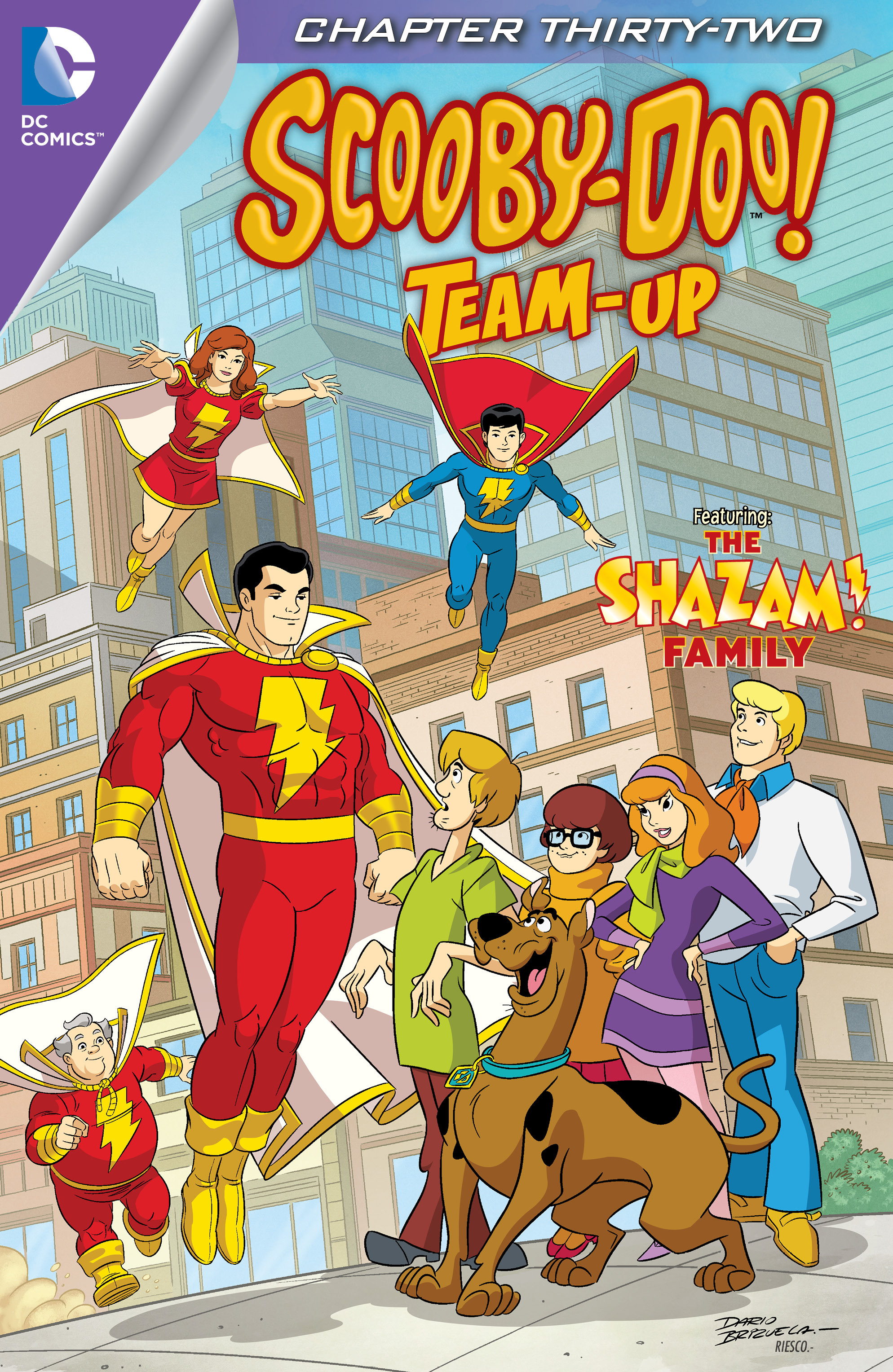 Read online Scooby-Doo! Team-Up comic -  Issue #32 - 2