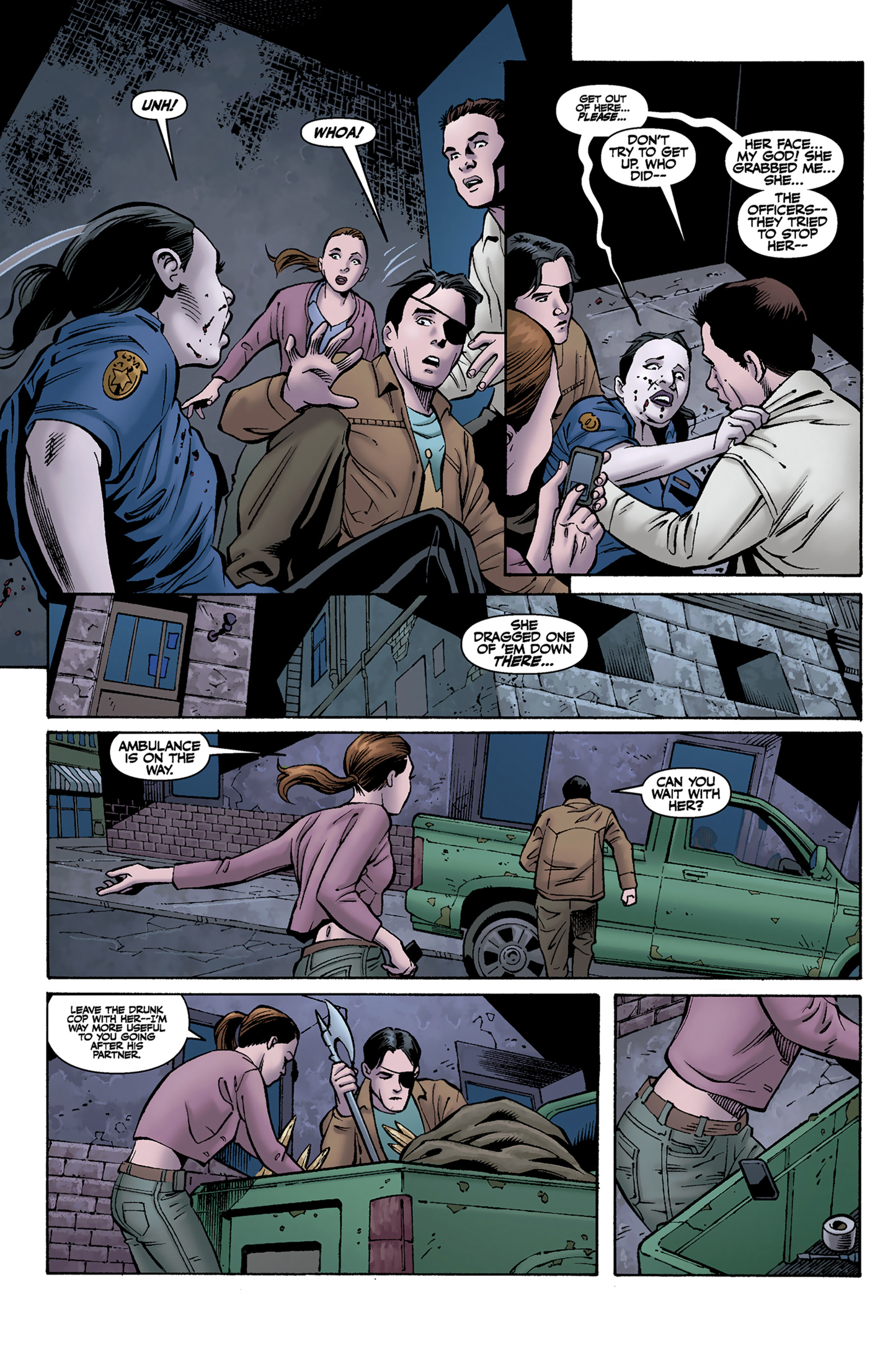 Read online Buffy the Vampire Slayer Season Nine comic -  Issue #9 - 9