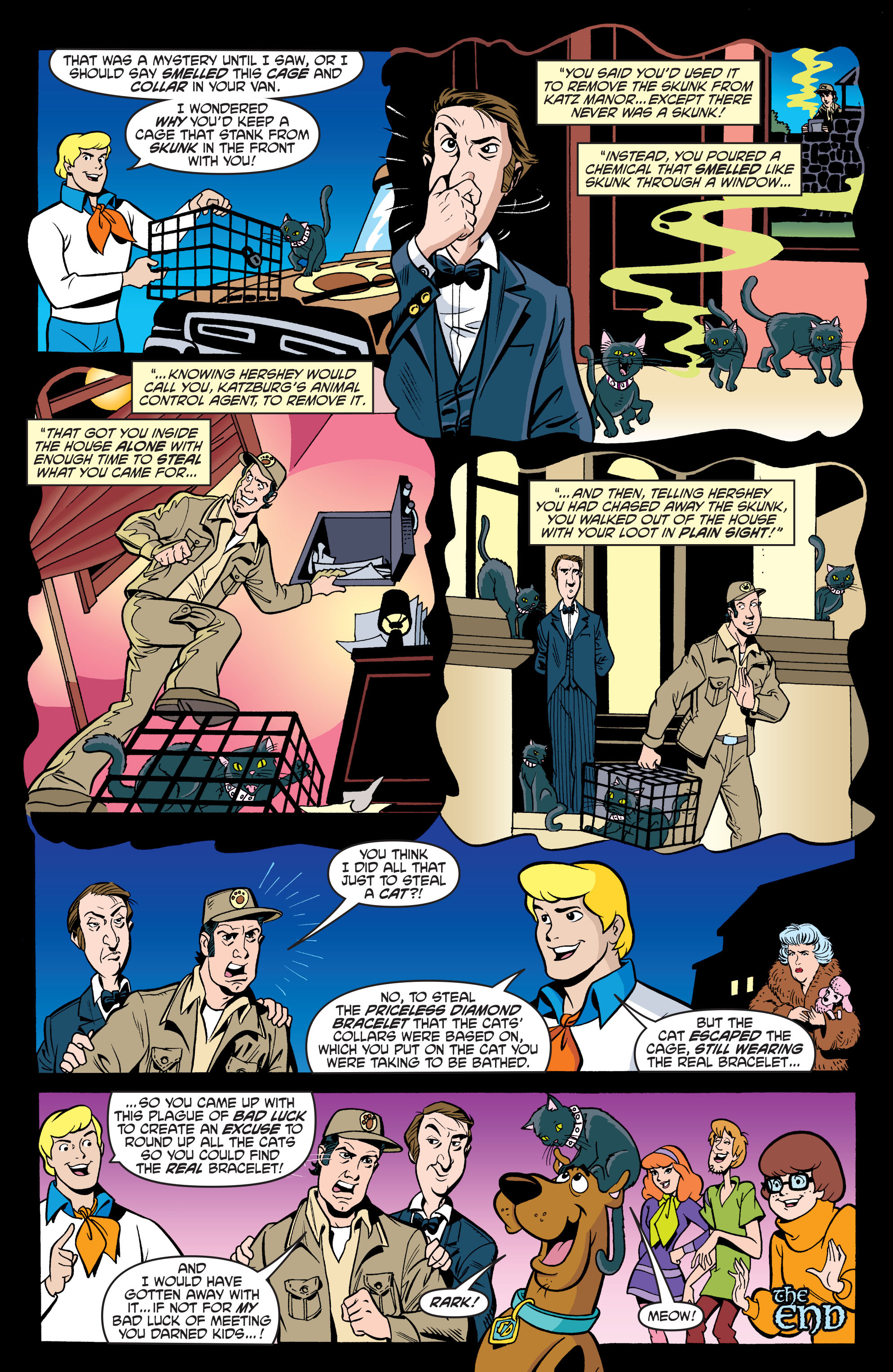 Read online Scooby-Doo: Where Are You? comic -  Issue #63 - 23