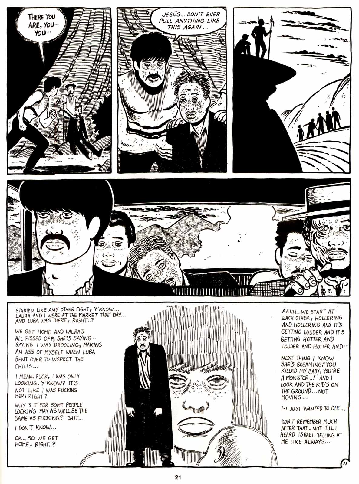 Love and Rockets (1982) Issue #9 #8 - English 23