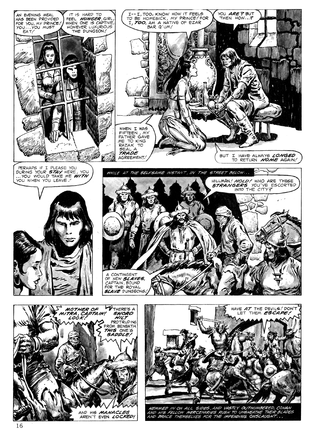 The Savage Sword Of Conan Issue #71 #72 - English 16