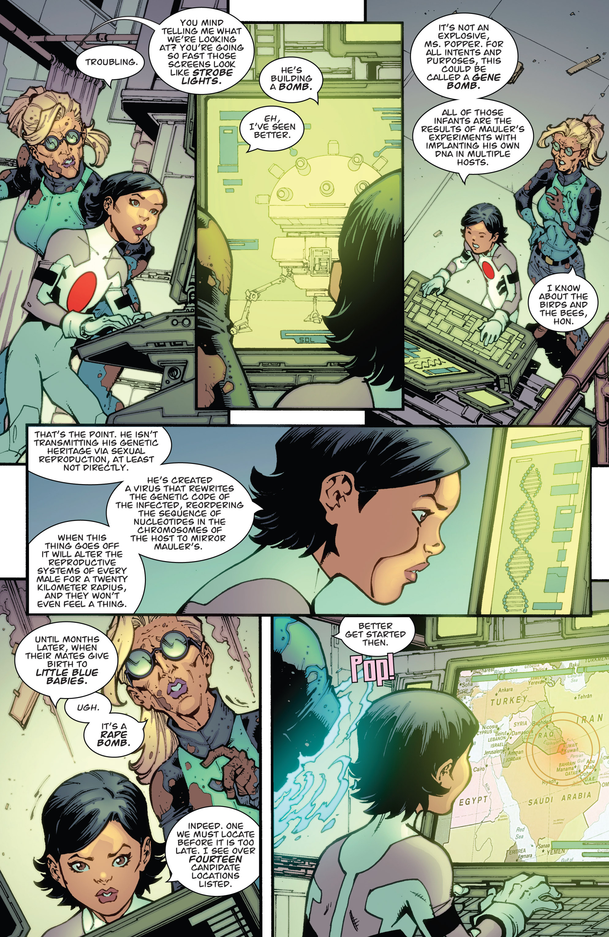 Read online Guarding the Globe (2012) comic -  Issue #2 - 15