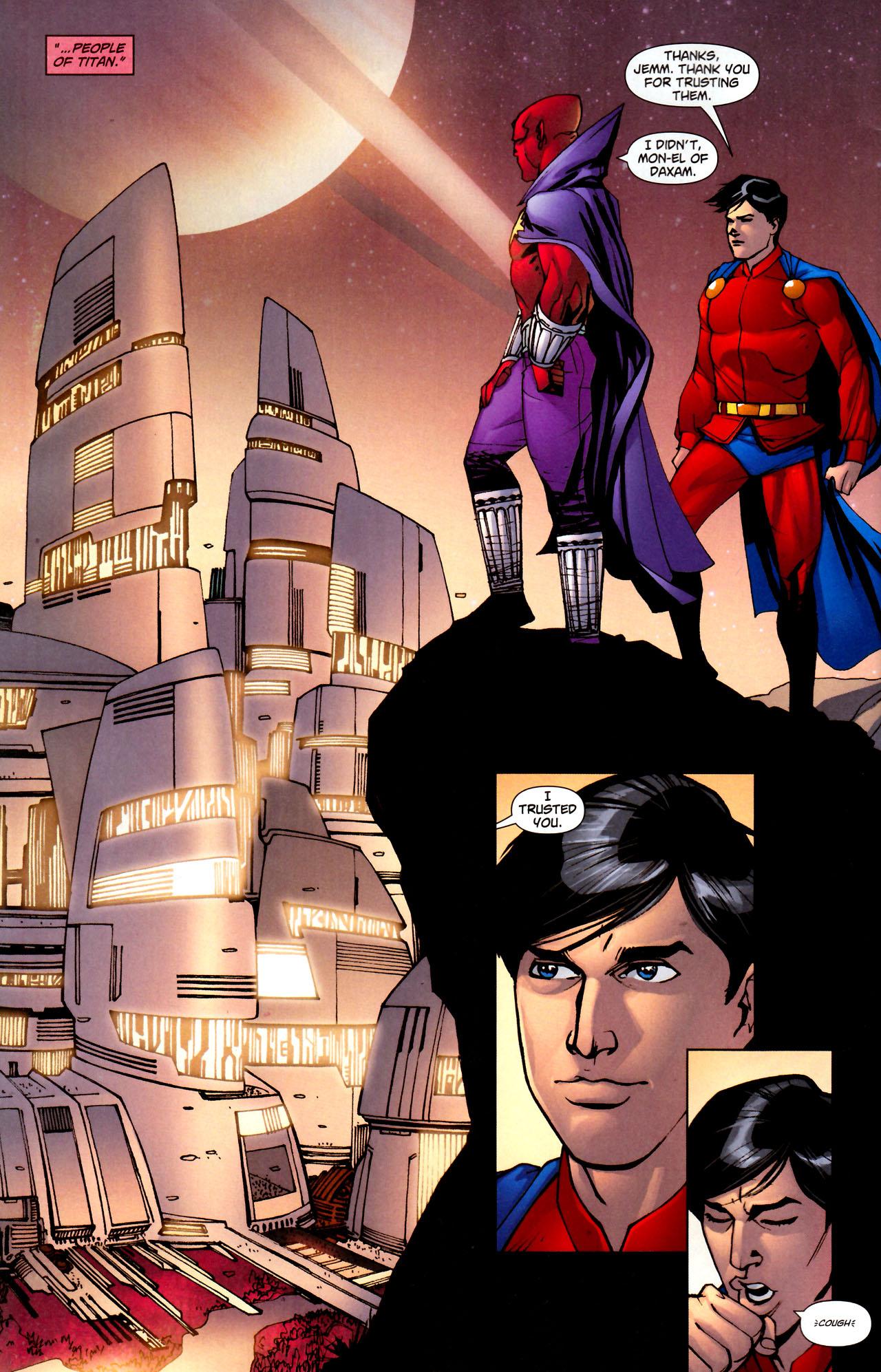 Read online Adventure Comics (2009) comic -  Issue #11 - 18