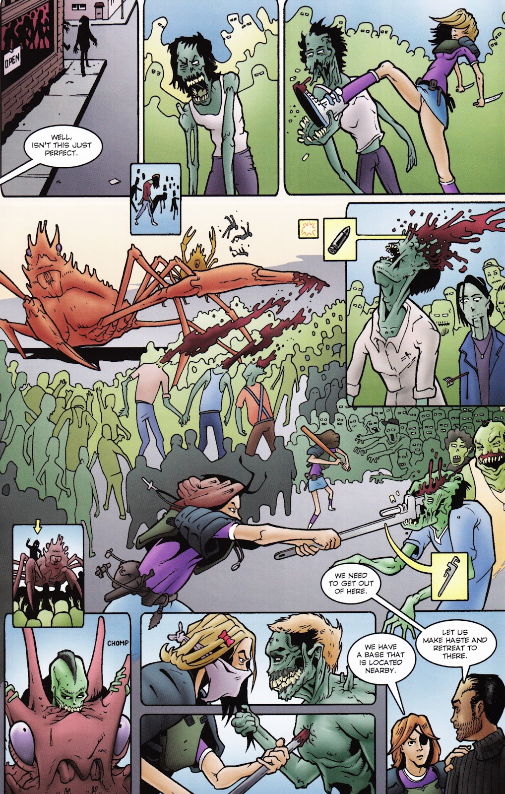 Zombies vs Cheerleaders Issue #2 Page 15