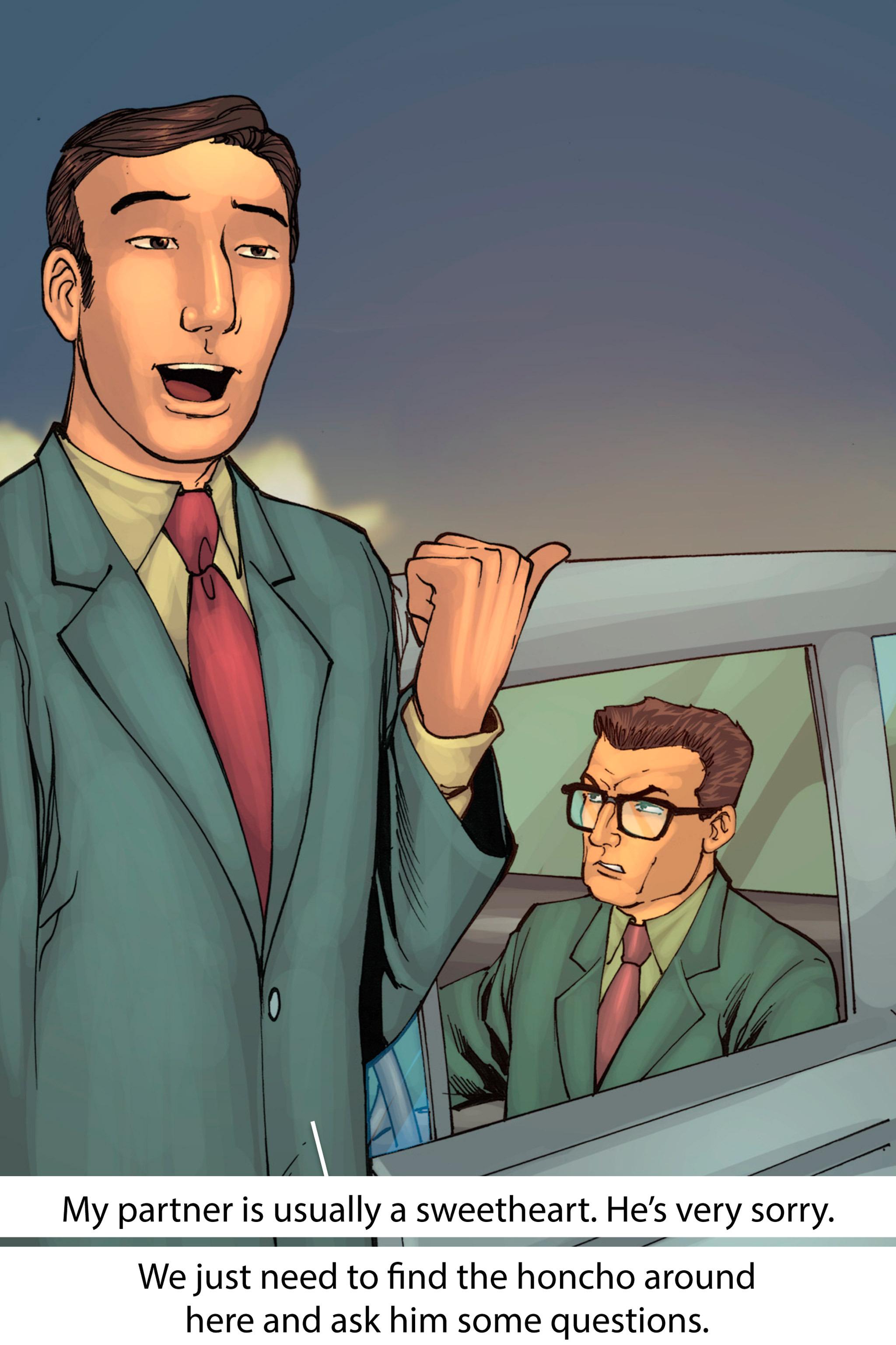 Read online Z-Men comic -  Issue #1 - 133