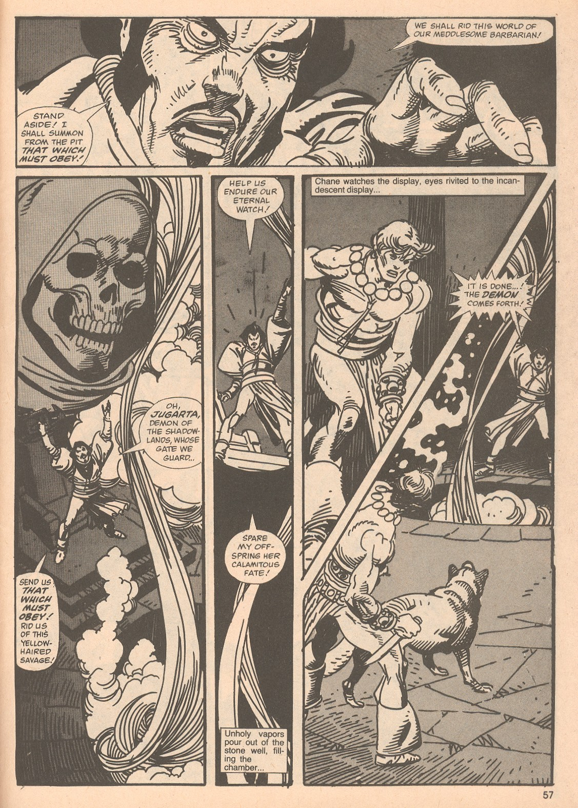 The Savage Sword Of Conan Issue #67 #68 - English 57