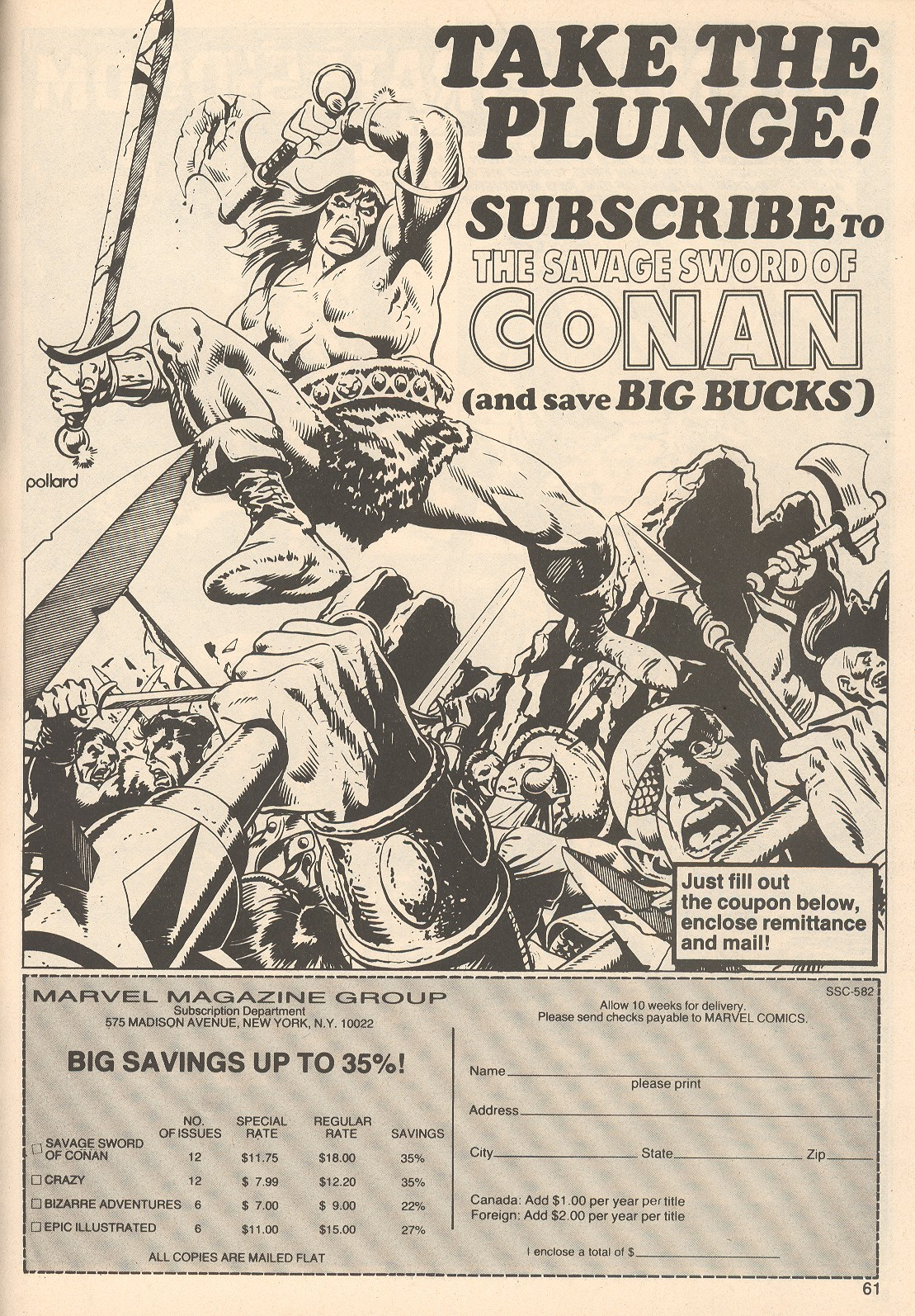 The Savage Sword Of Conan Issue #76 #77 - English 61