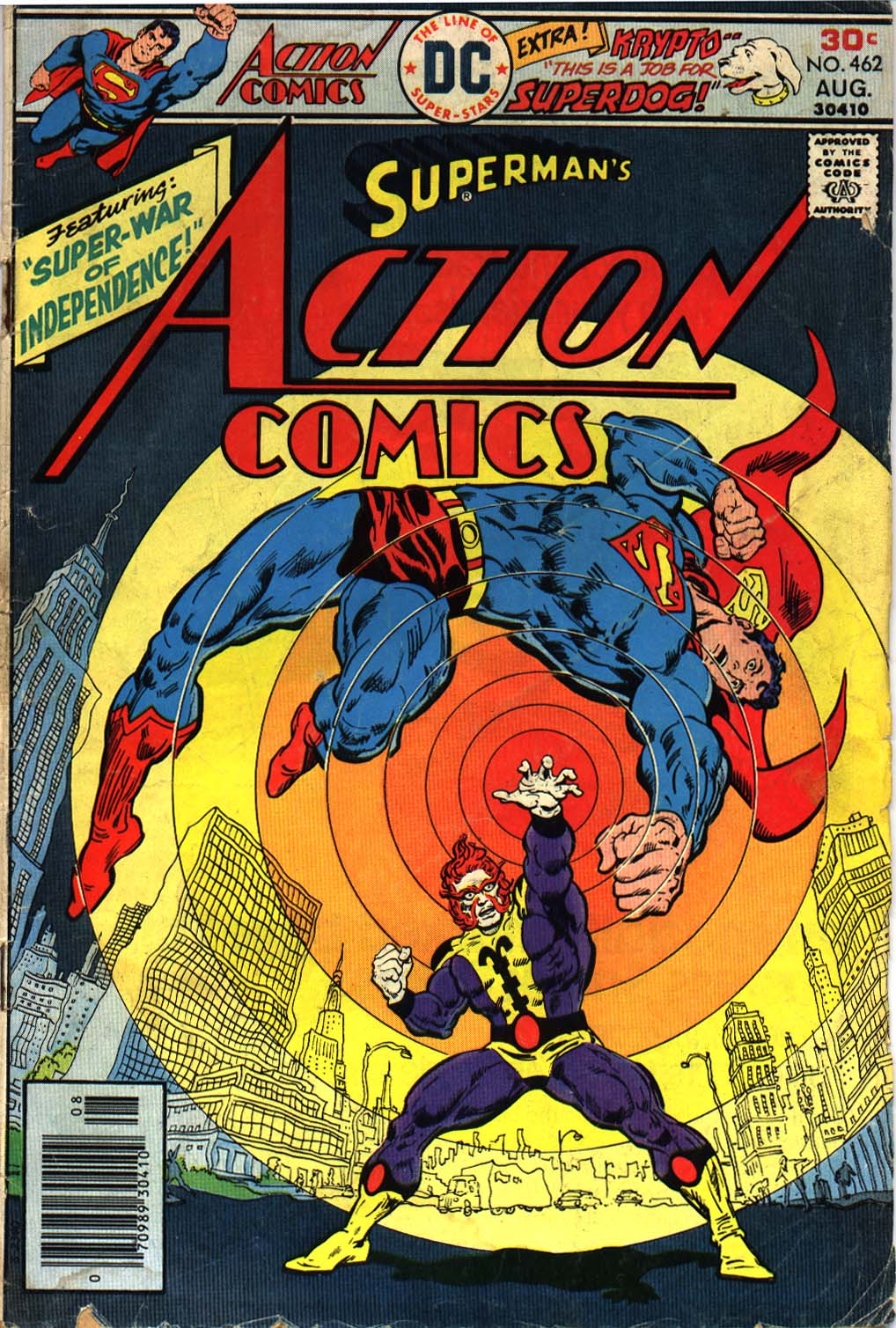 Action Comics (1938) 462 Page 1