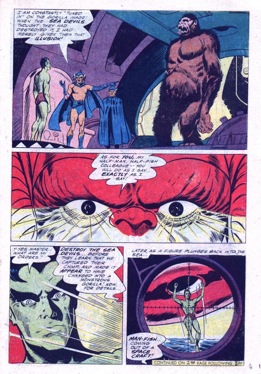 Read online Sea Devils comic -  Issue #30 - 28
