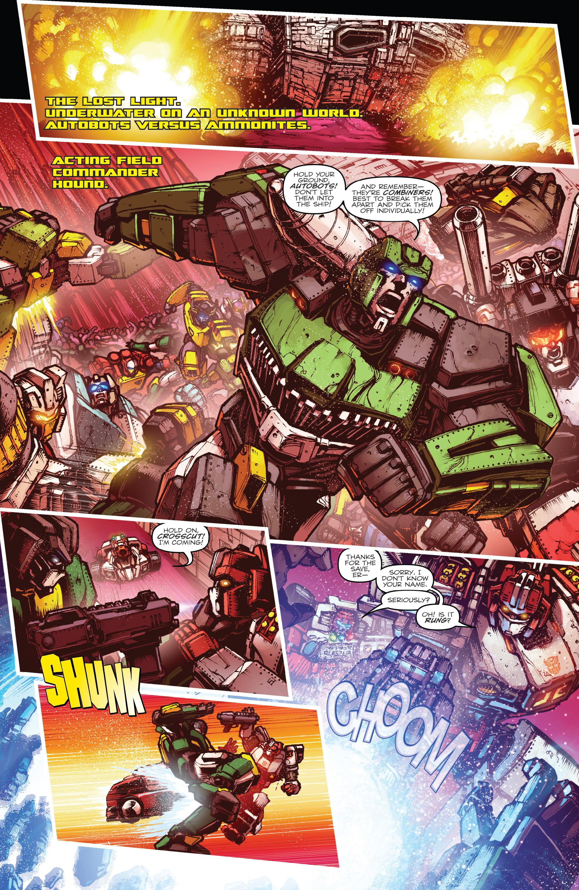 Read online The Transformers: Dark Cybertron Finale comic -  Issue # Full - 6