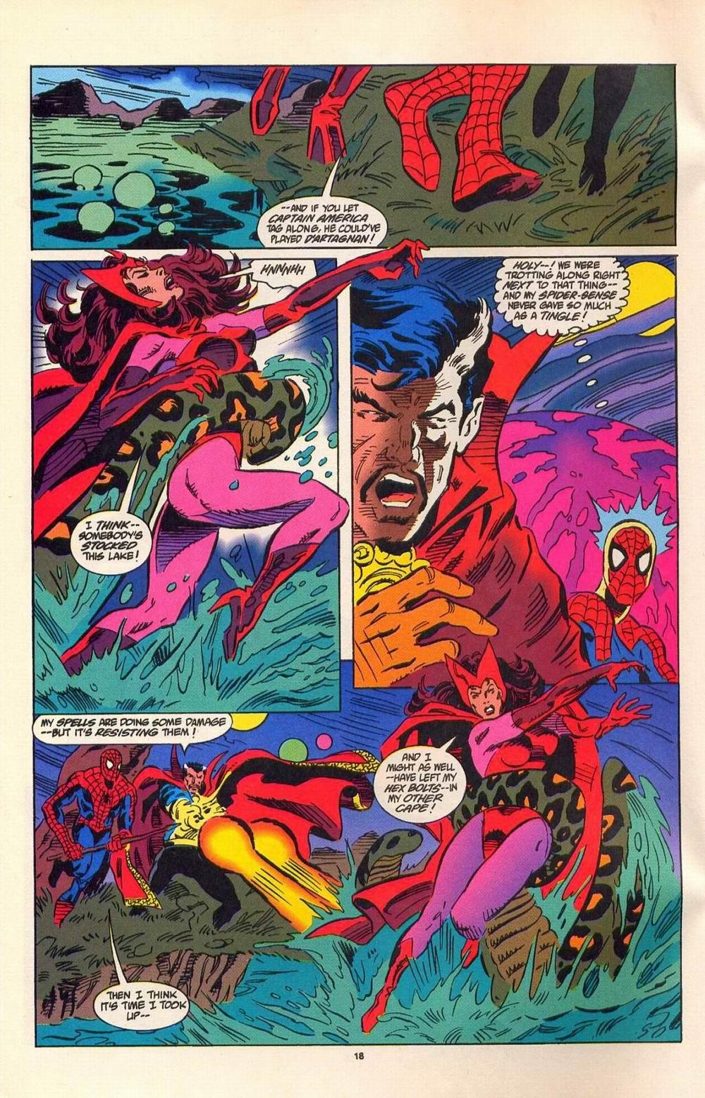 Read online Secret Defenders comic -  Issue #7 - 13