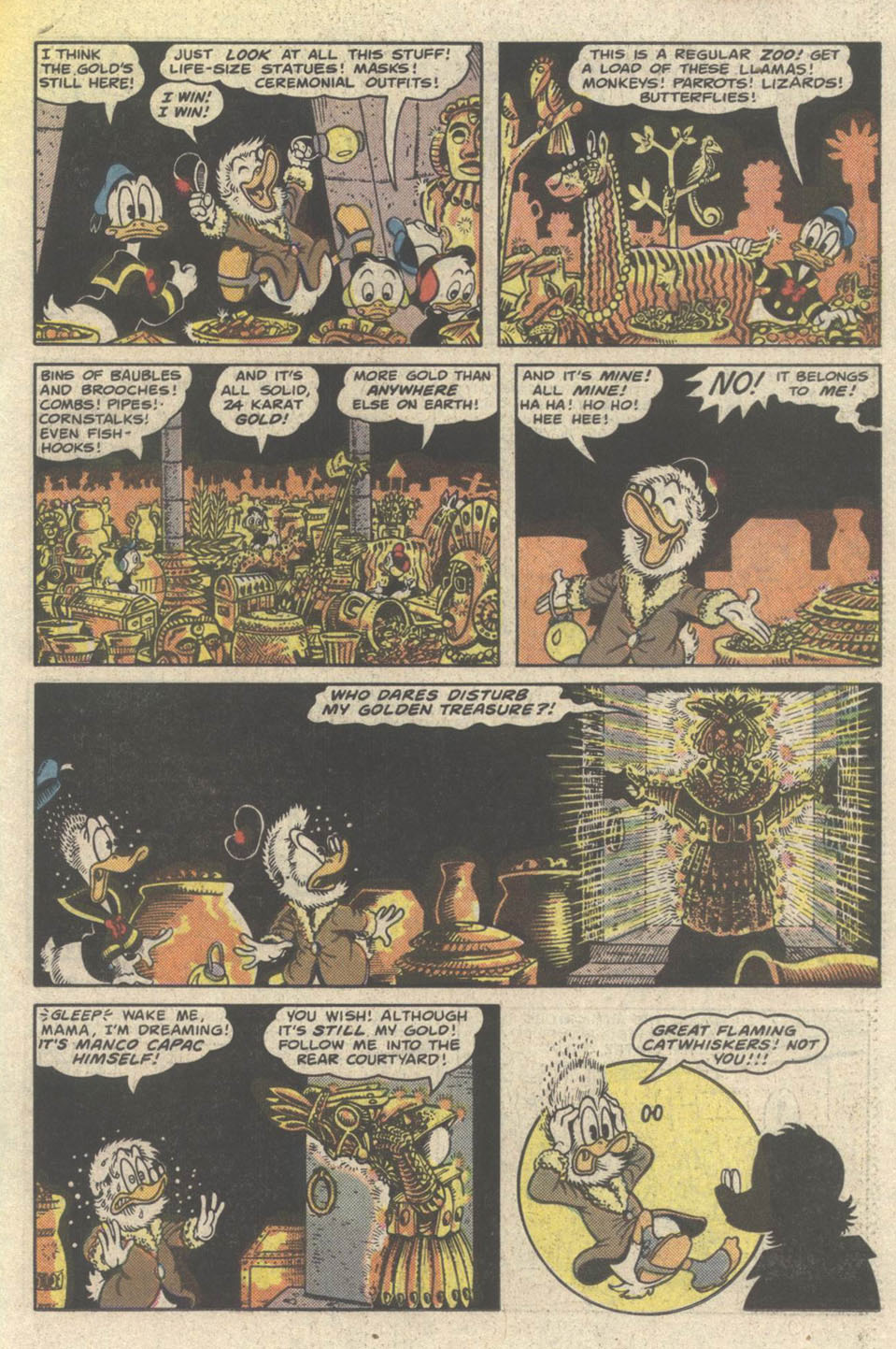 Uncle Scrooge (1953) Issue #219 #219 - English 19