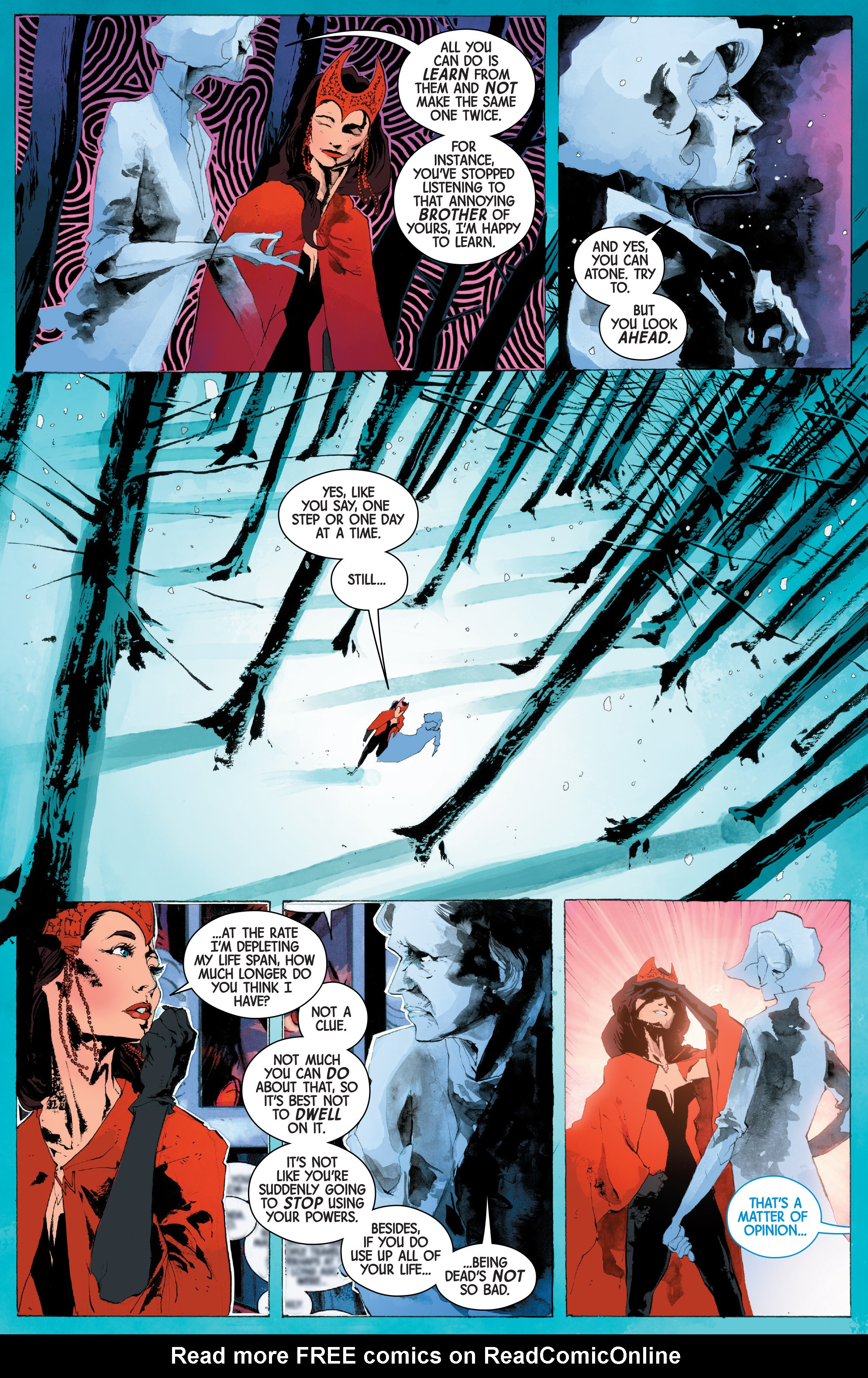 Read online Scarlet Witch (2016) comic -  Issue #13 - 10