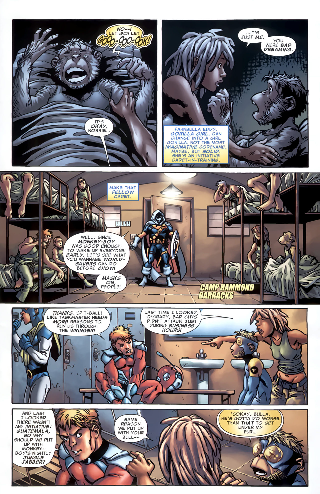 Read online Marvel Apes: Speedball Special comic -  Issue # Full - 7