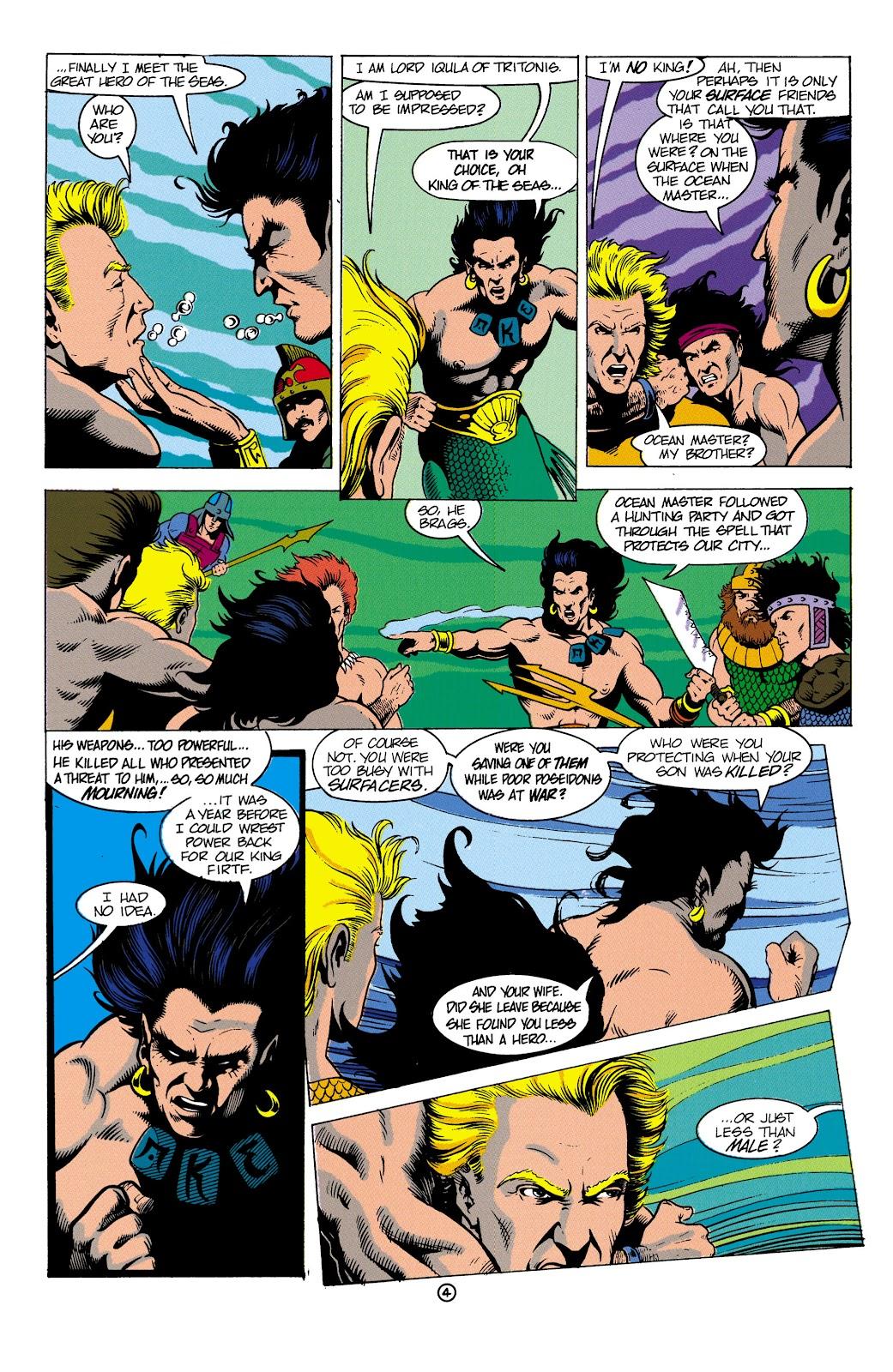 Aquaman (1991) Issue #4 #4 - English 5