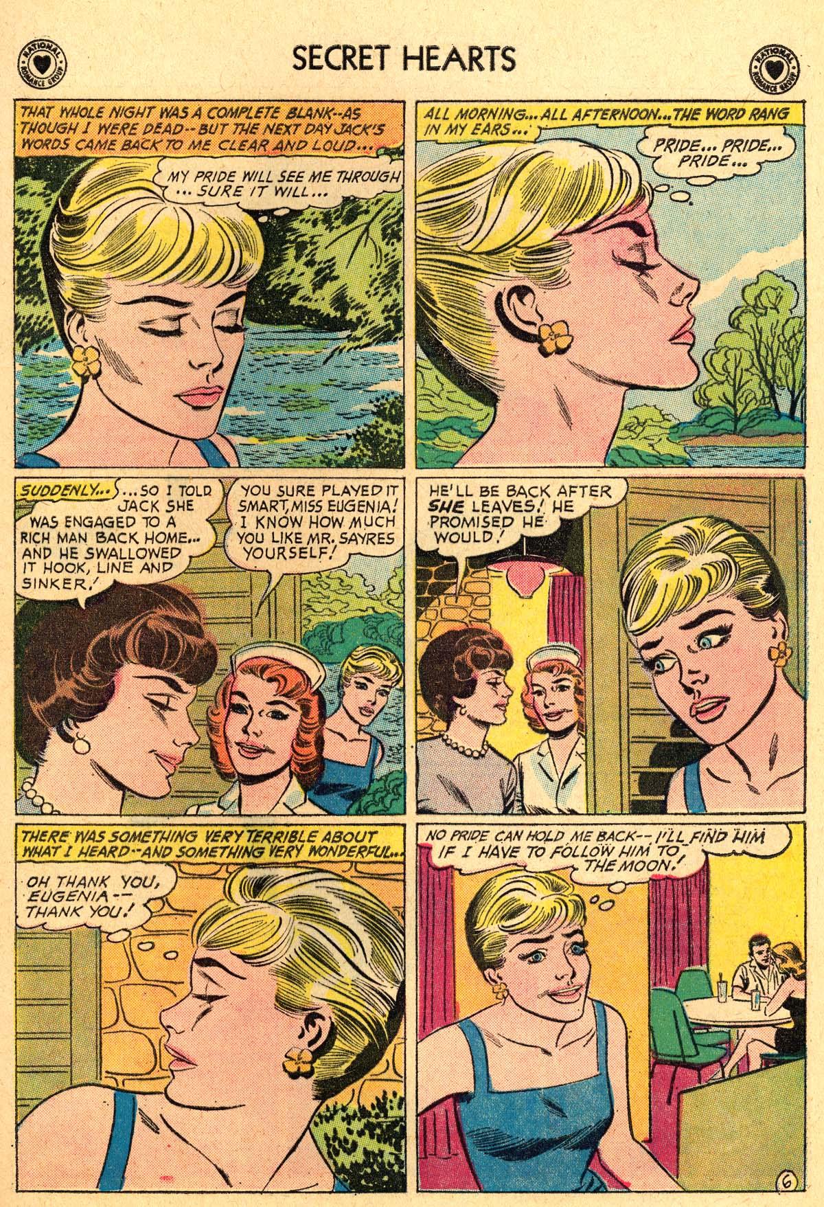 Read online Secret Hearts comic -  Issue #69 - 25