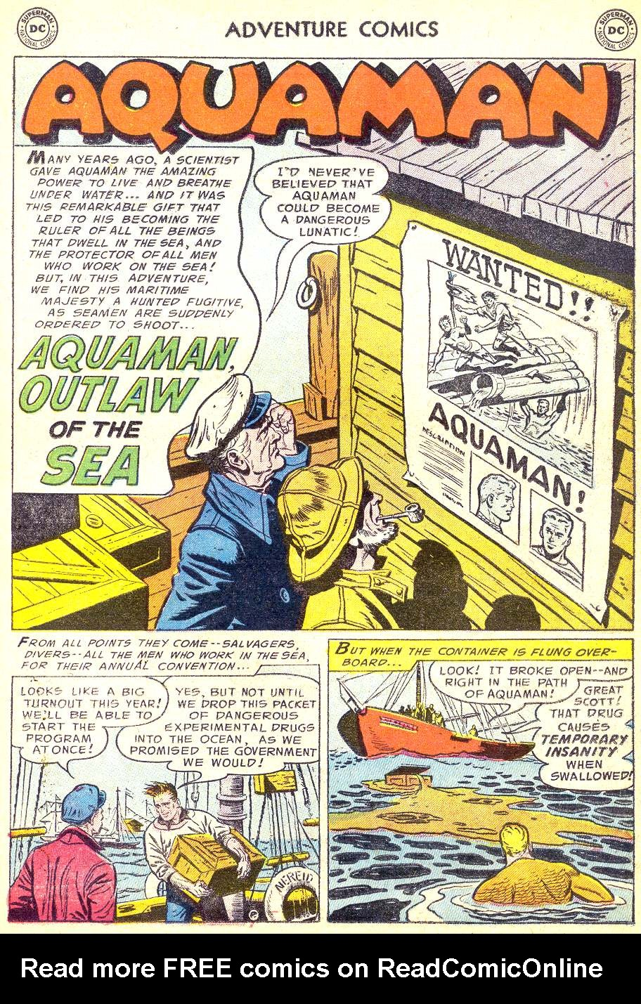 Read online Adventure Comics (1938) comic -  Issue #218 - 17