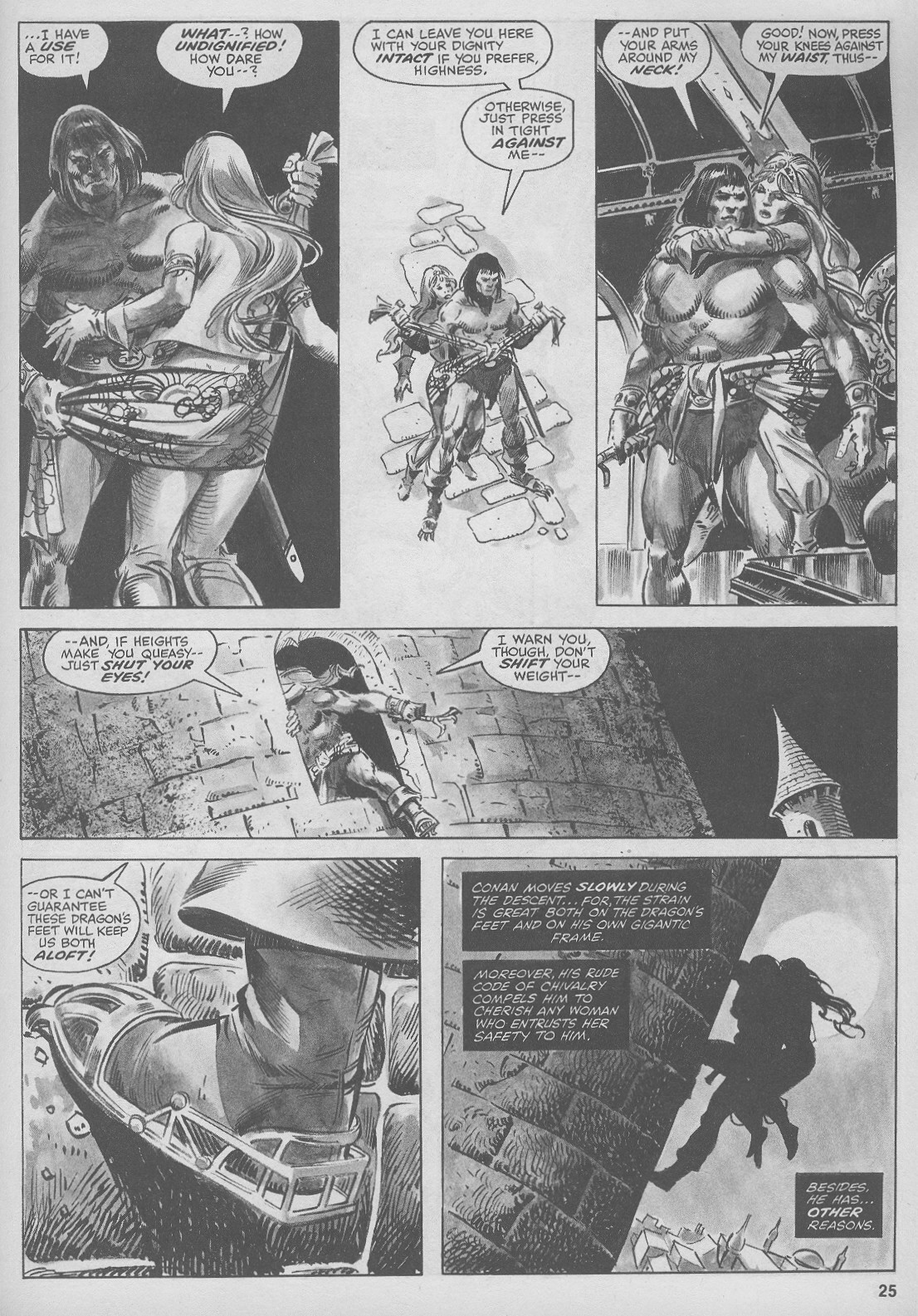 The Savage Sword Of Conan Issue #44 #45 - English 25