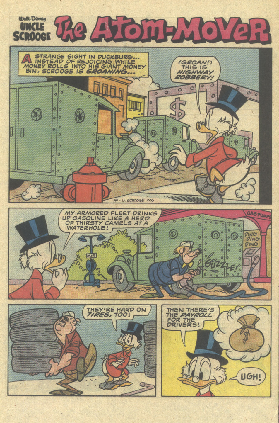 Uncle Scrooge (1953) Issue #206 #206 - English 25