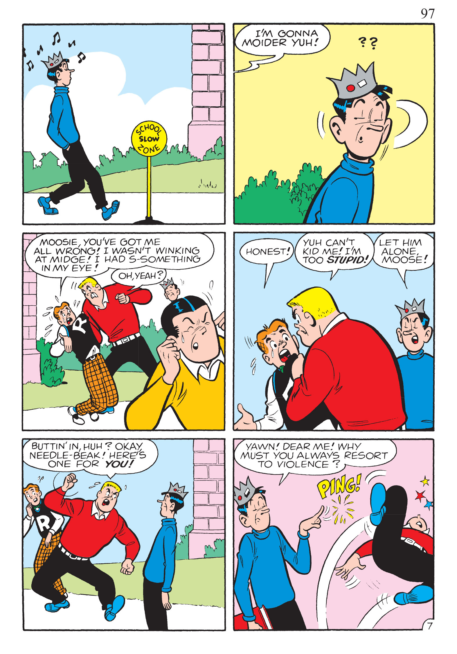 Read online The Best of Archie Comics comic -  Issue # TPB 2 (Part 1) - 99