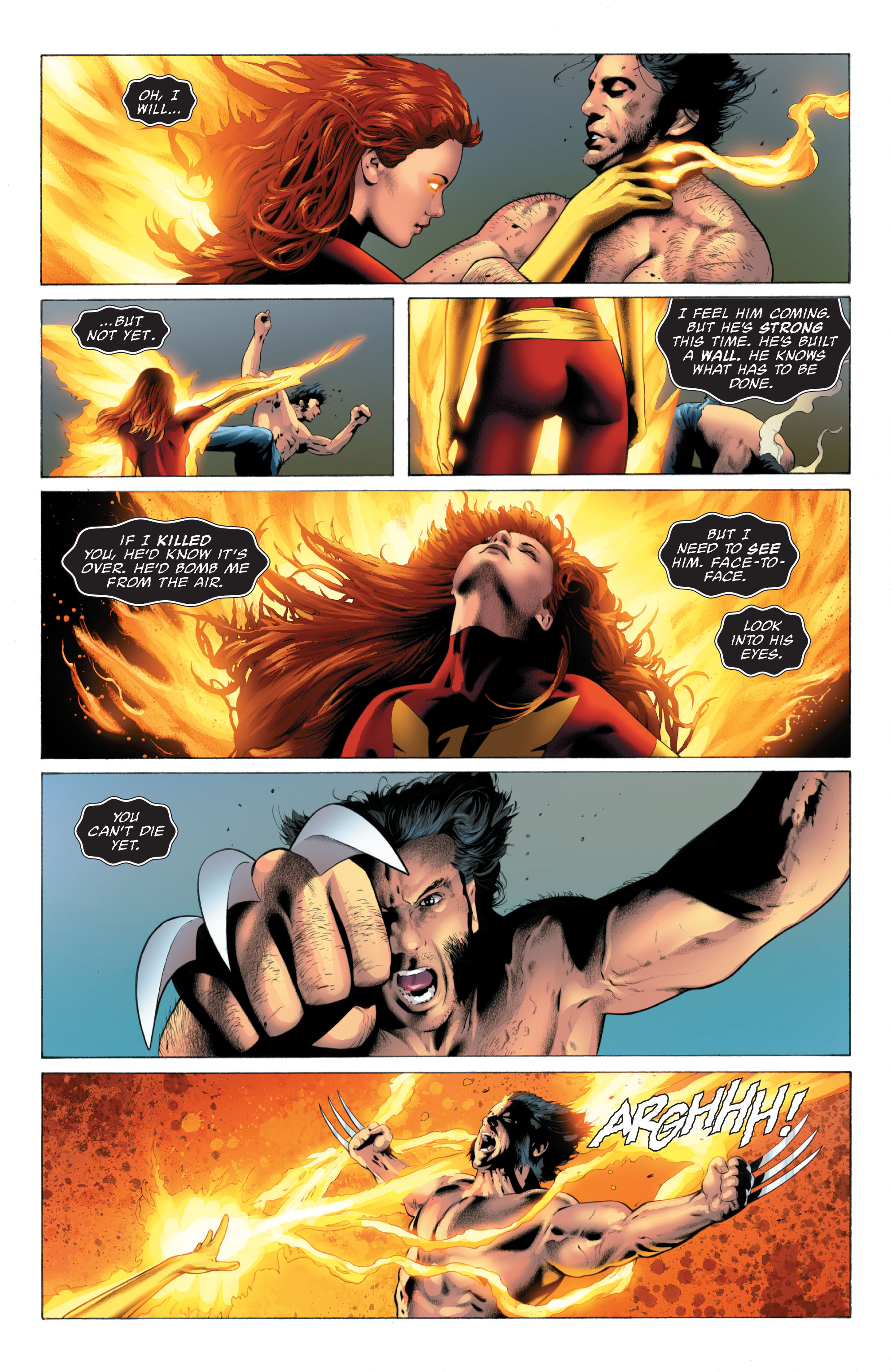 Read online X-Men: Phoenix - Endsong comic -  Issue #3 - 11