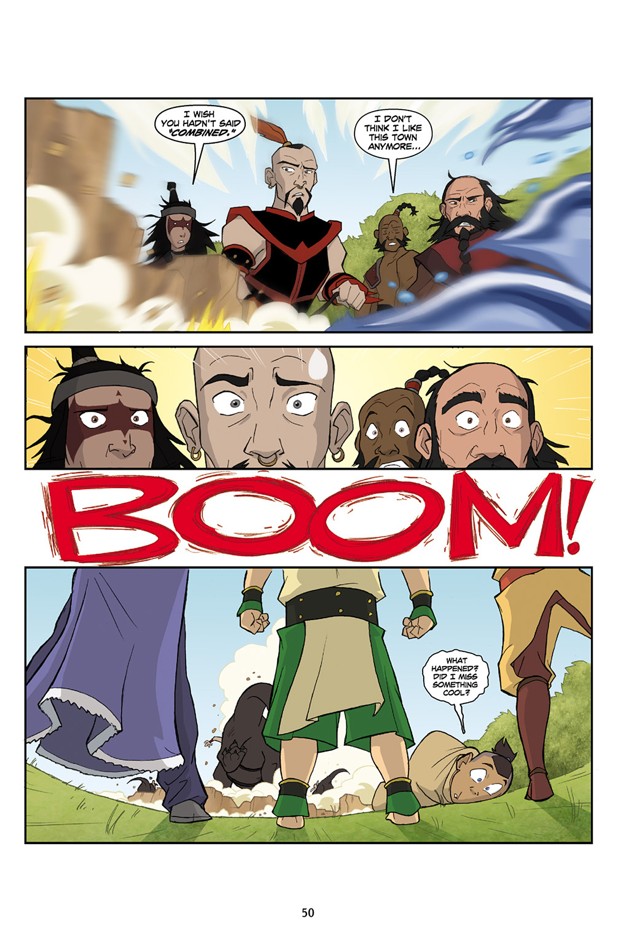 Nickelodeon Avatar: The Last Airbender - The Lost Adventures chap full pic 51