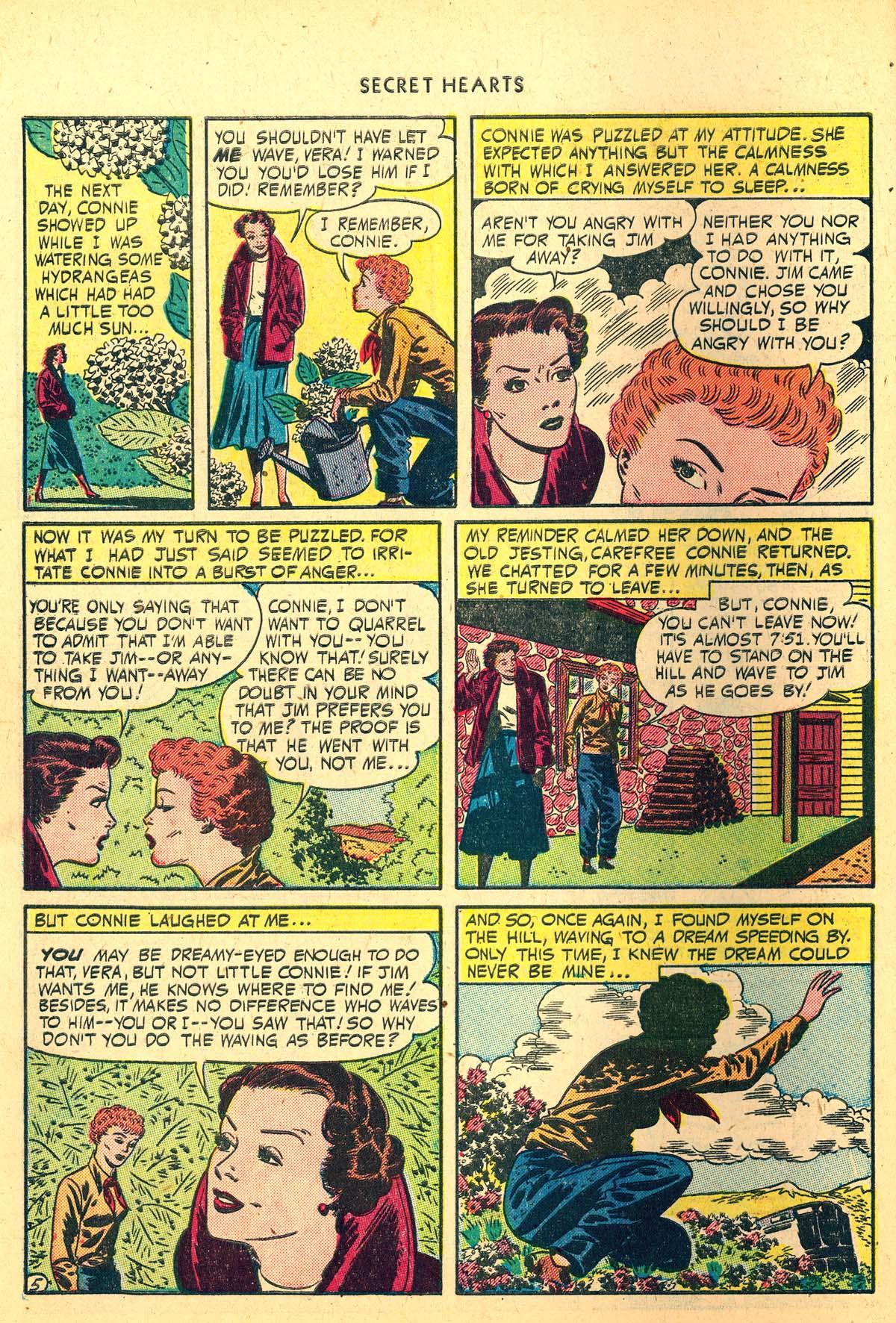 Read online Secret Hearts comic -  Issue #4 - 44