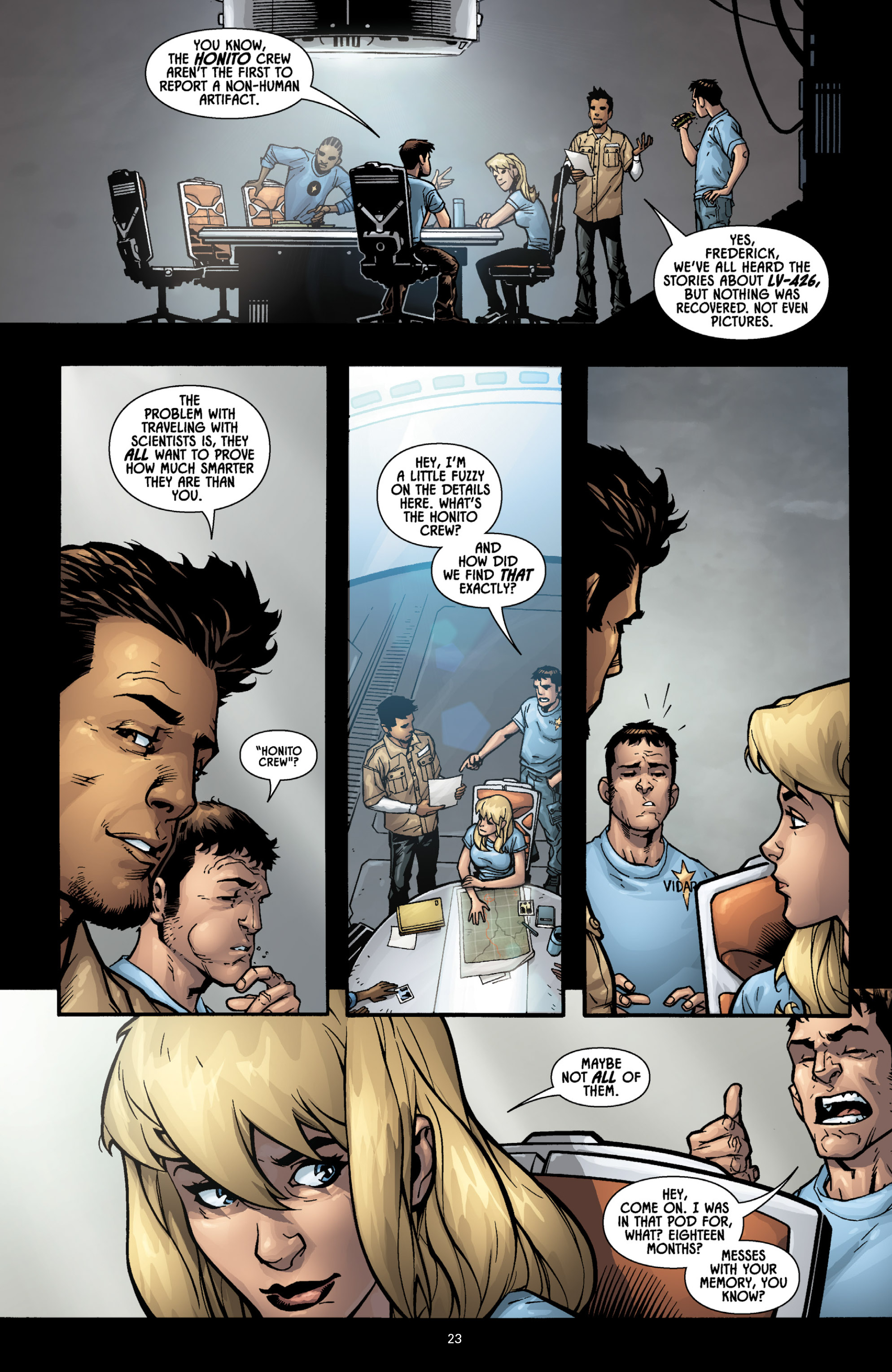 Aliens (2009) TPB Page 21