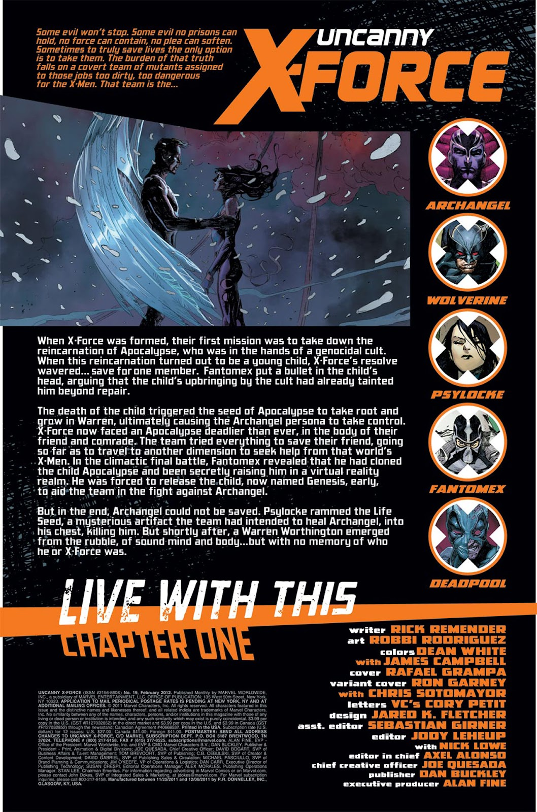 Uncanny X-Force (2010) Issue #19 #20 - English 2