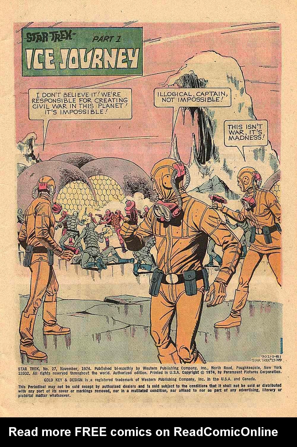 Star Trek (1967) Issue #27 #27 - English 2