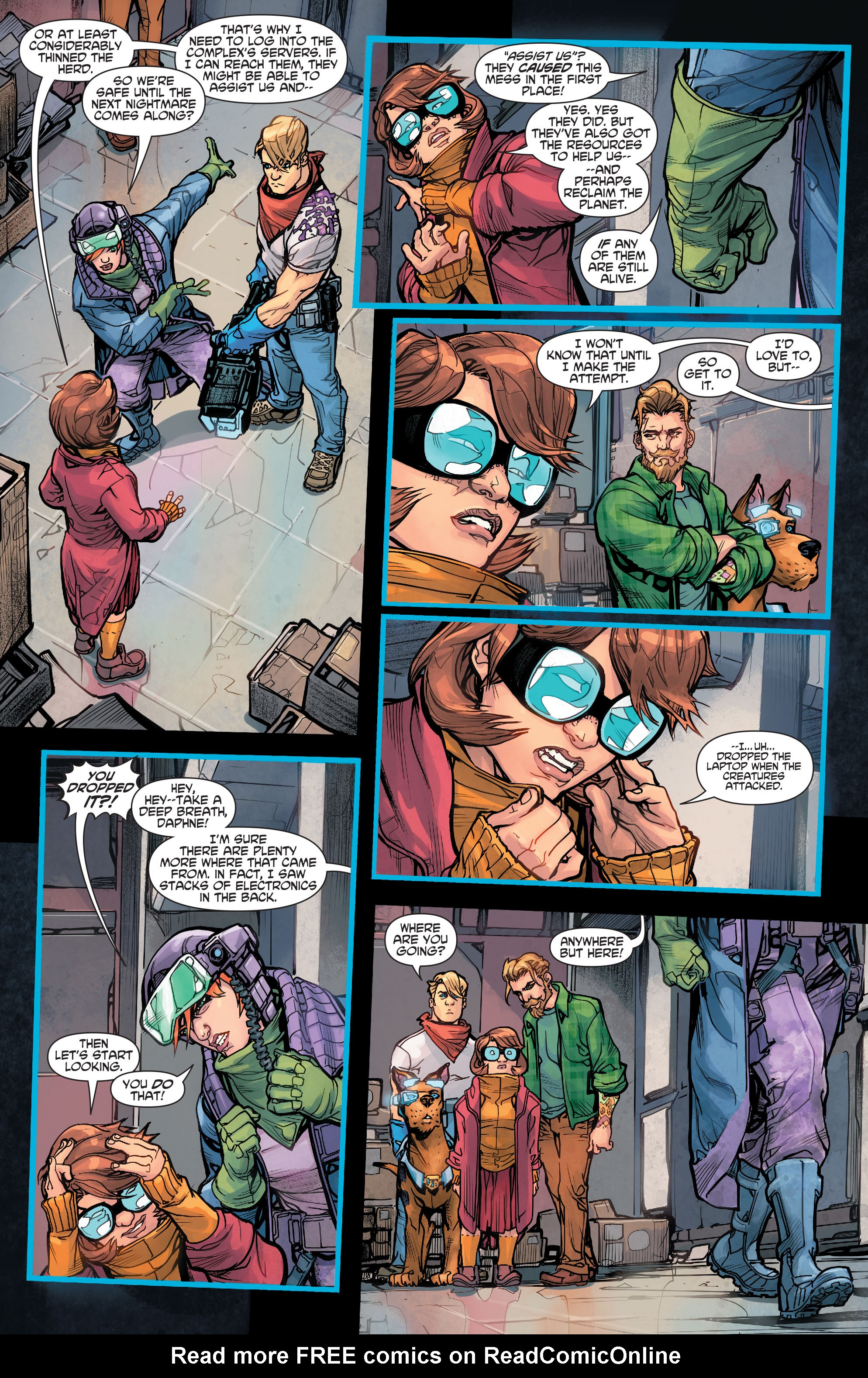 Read online Scooby Apocalypse comic -  Issue #5 - 23