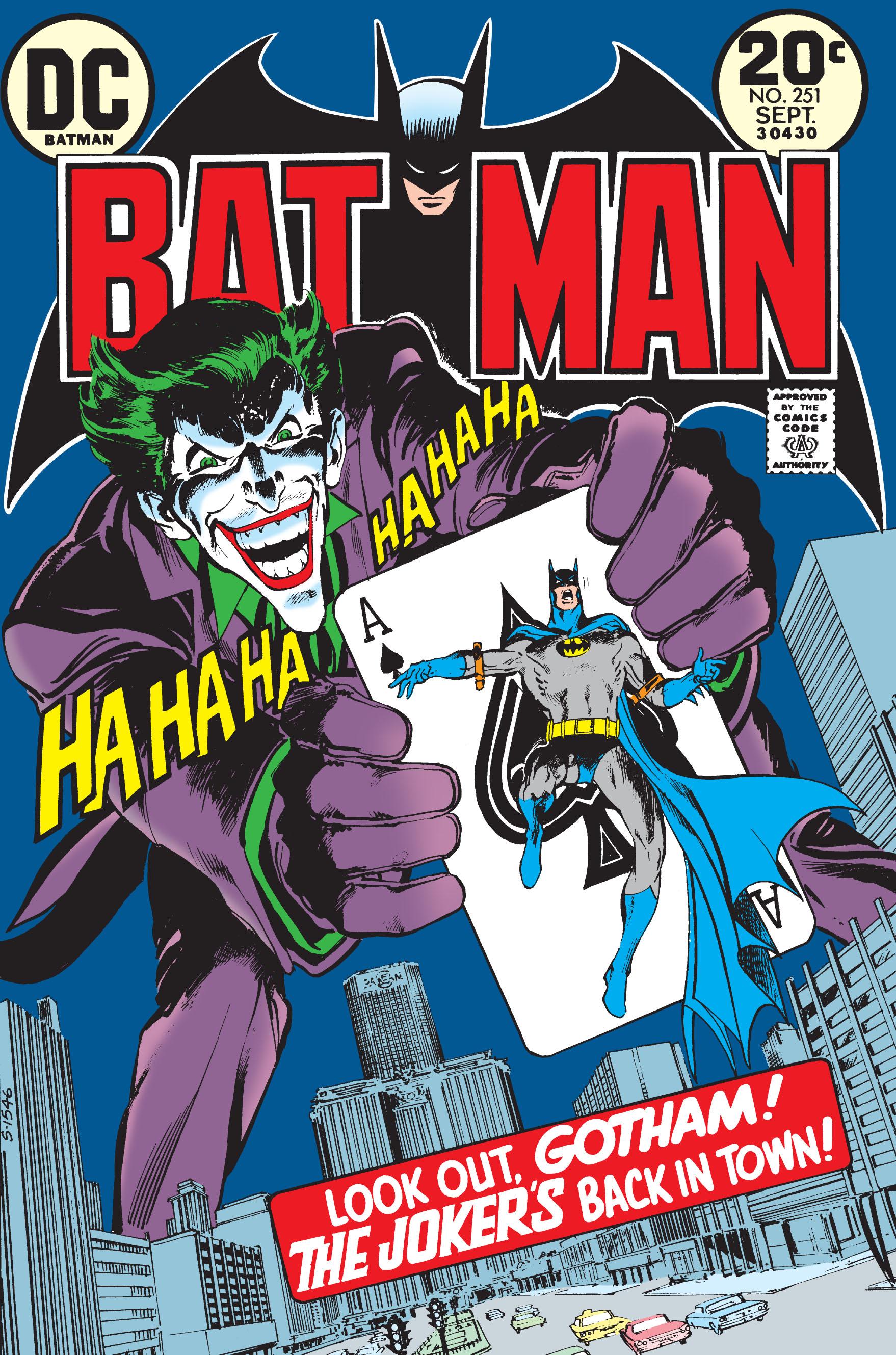 Batman (1940) 251 Page 1