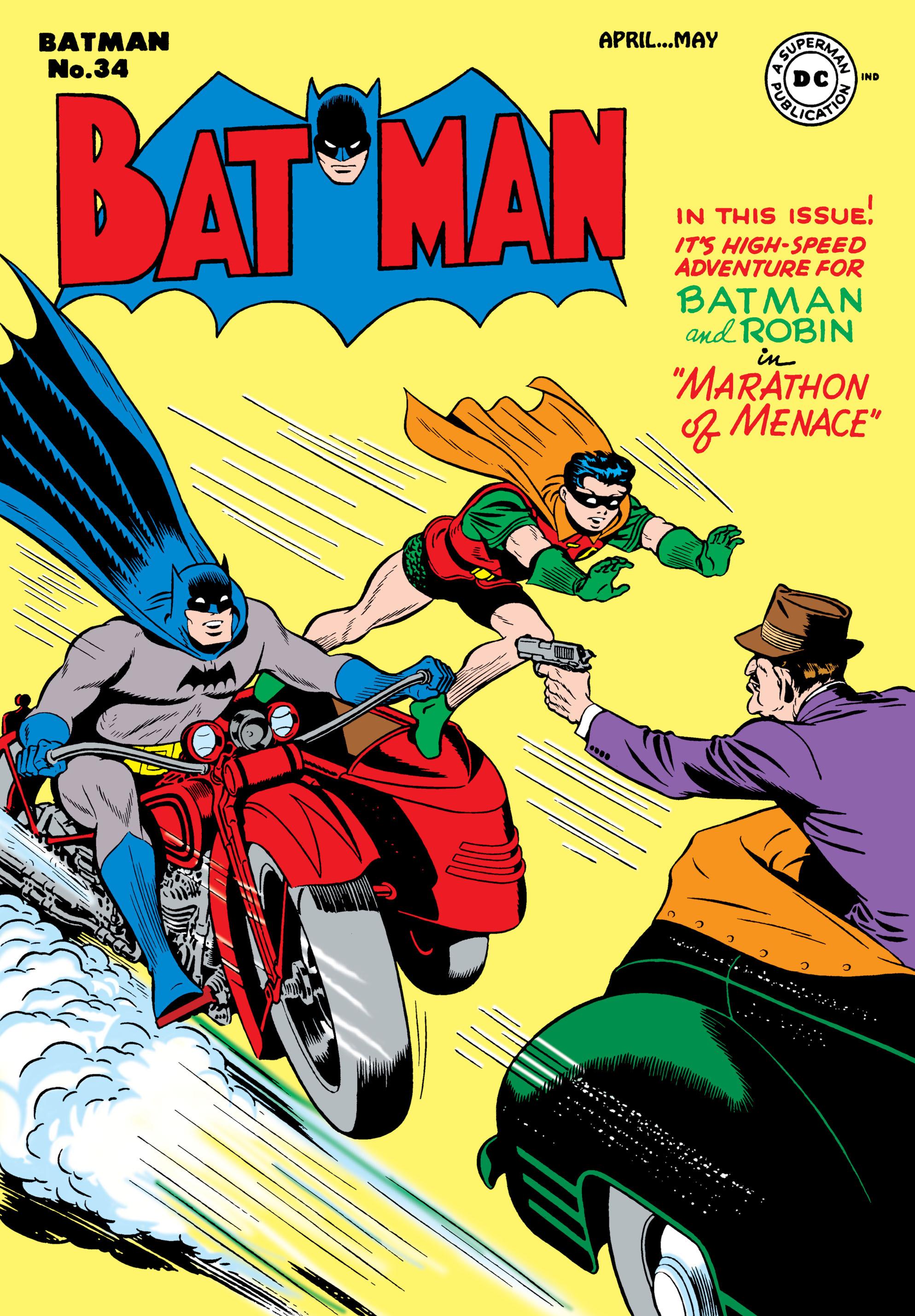 Batman (1940) 34 Page 1