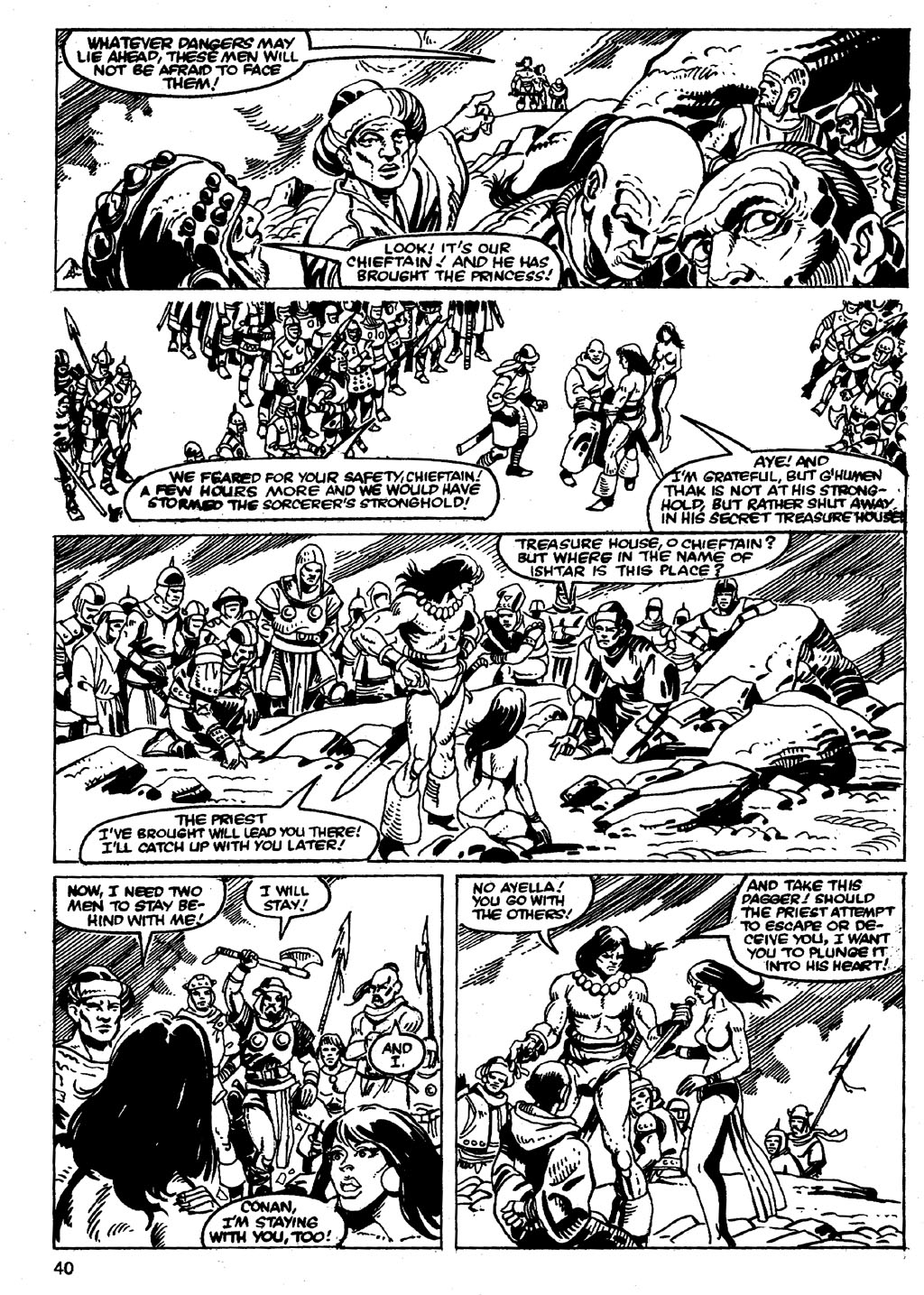 The Savage Sword Of Conan Issue #86 #87 - English 40
