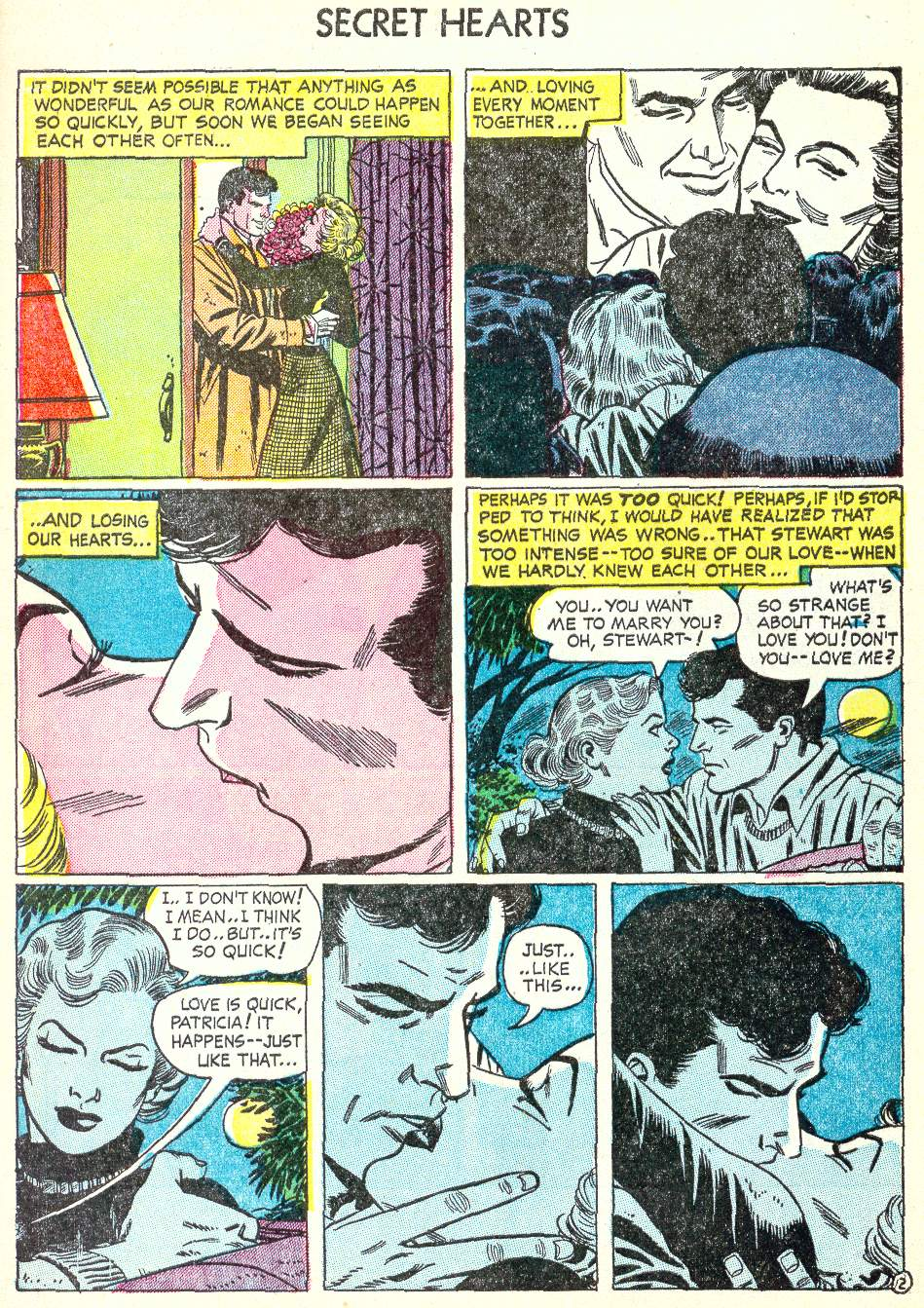 Read online Secret Hearts comic -  Issue #22 - 4