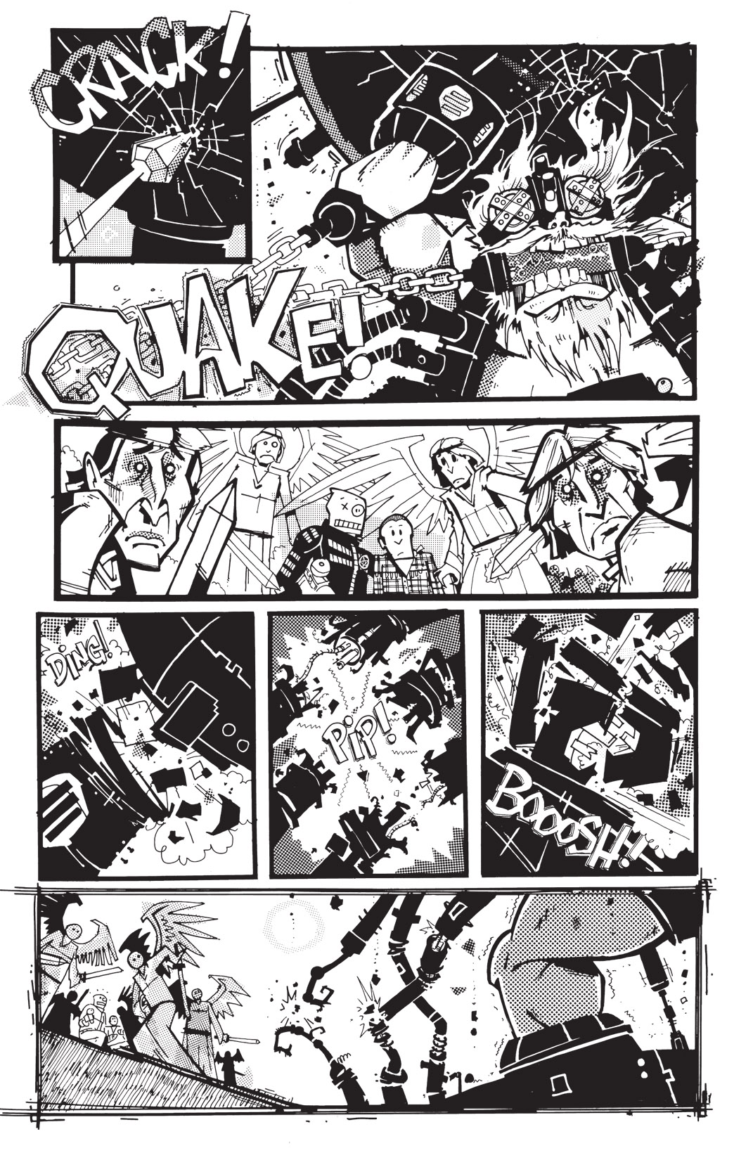 Read online Scud: The Disposable Assassin: The Whole Shebang comic -  Issue # TPB (Part 4) - 123