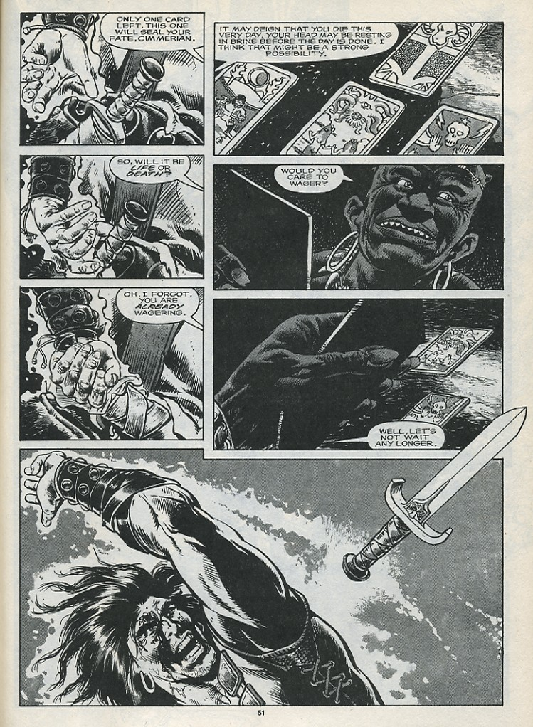 The Savage Sword Of Conan Issue #176 #177 - English 53