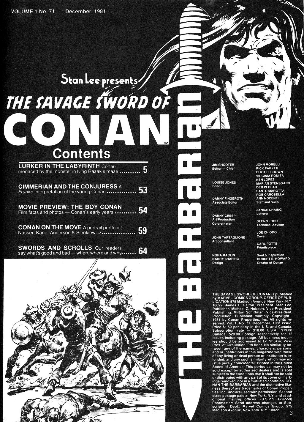 The Savage Sword Of Conan Issue #71 #72 - English 3