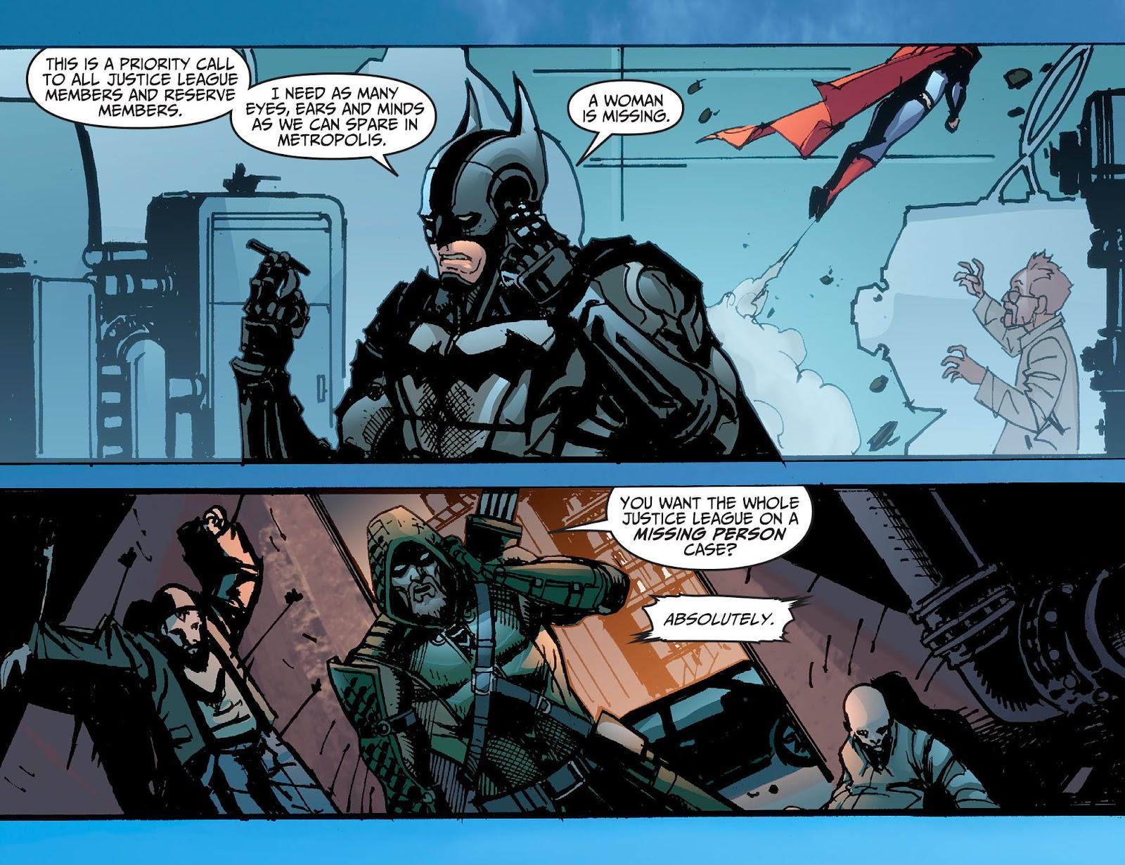 Injustice: Gods Among Us [I] Issue #2 #3 - English 9