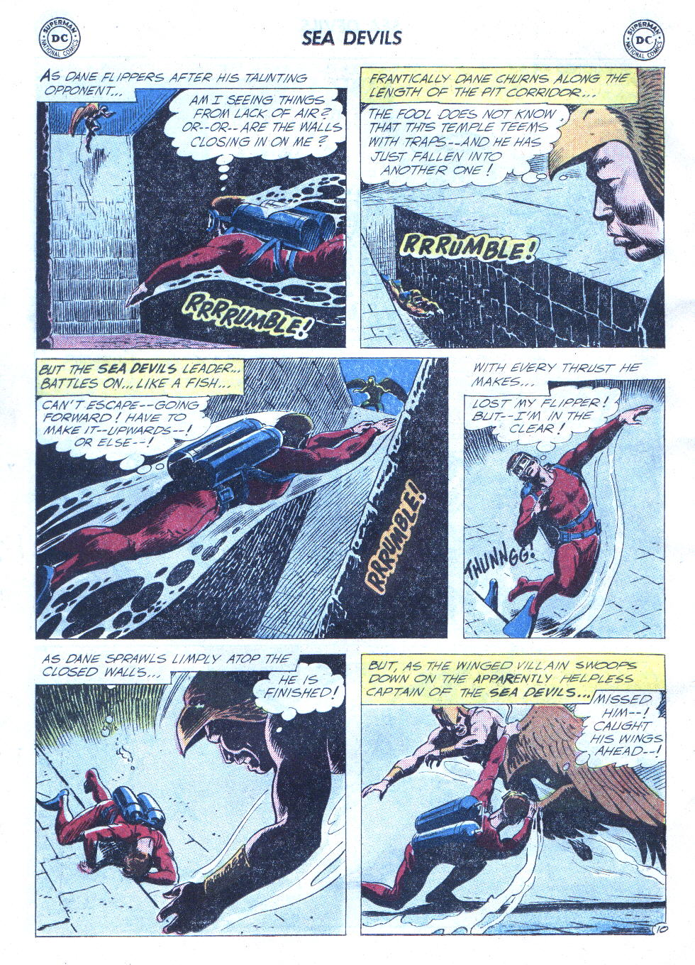 Read online Sea Devils comic -  Issue #4 - 31