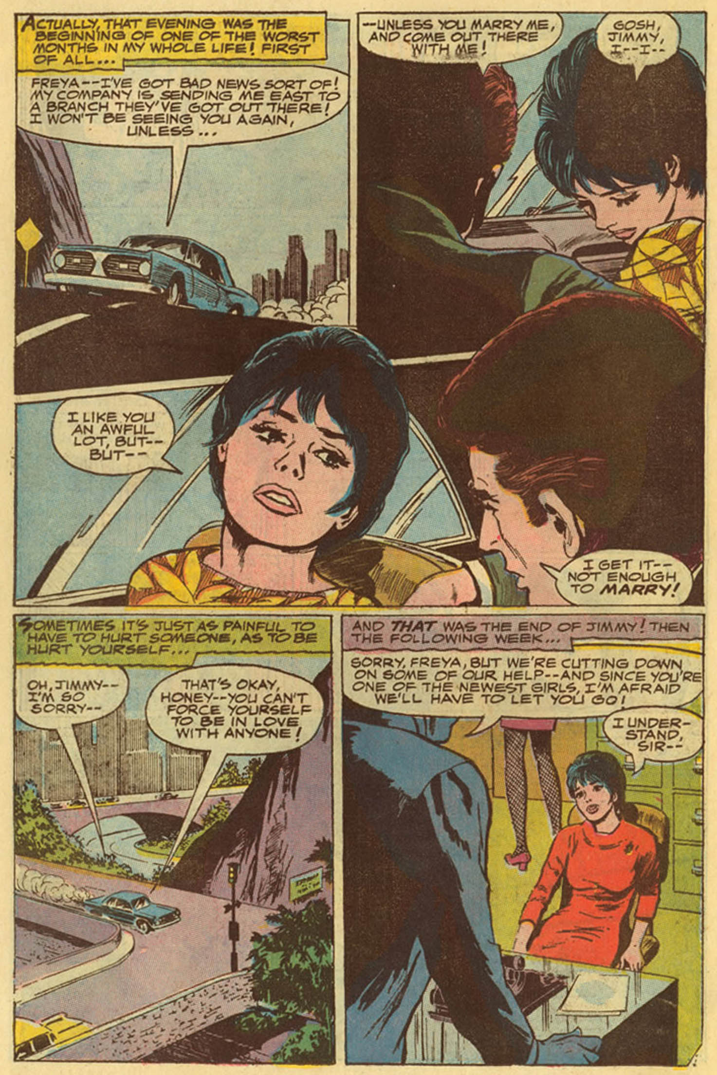 Read online Secret Hearts comic -  Issue #139 - 22