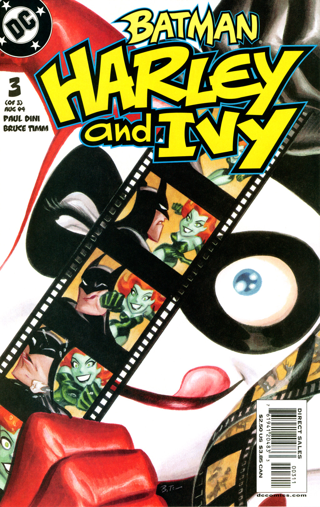 Batman: Harley & Ivy 3 Page 1