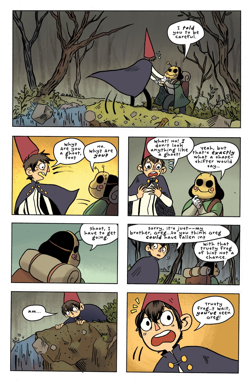 Over the Garden Wall (2016) Issue #7 #7 - English 23