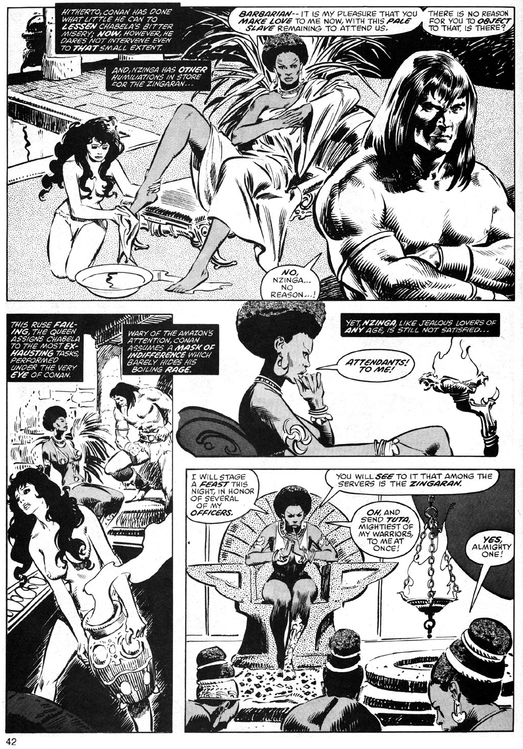 The Savage Sword Of Conan Issue #41 #42 - English 42