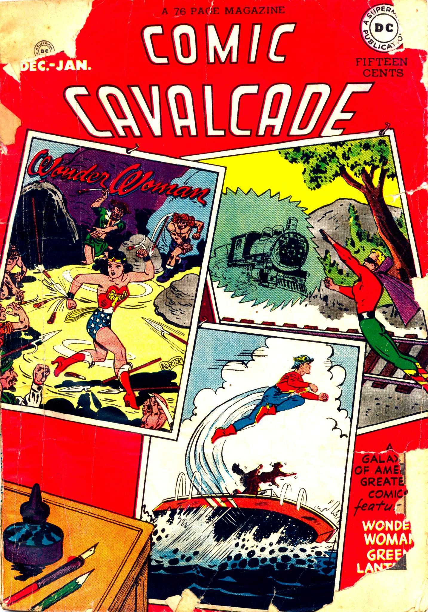 Comic Cavalcade 24 Page 1