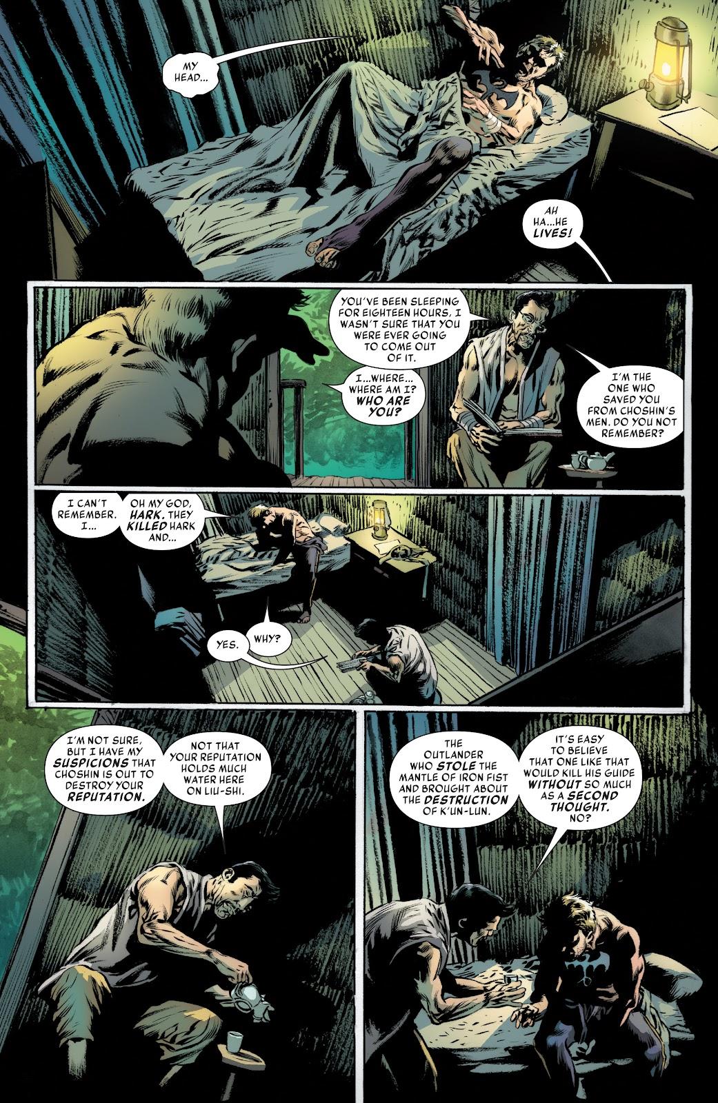 Iron Fist (2017) Issue #4 #4 - English 5