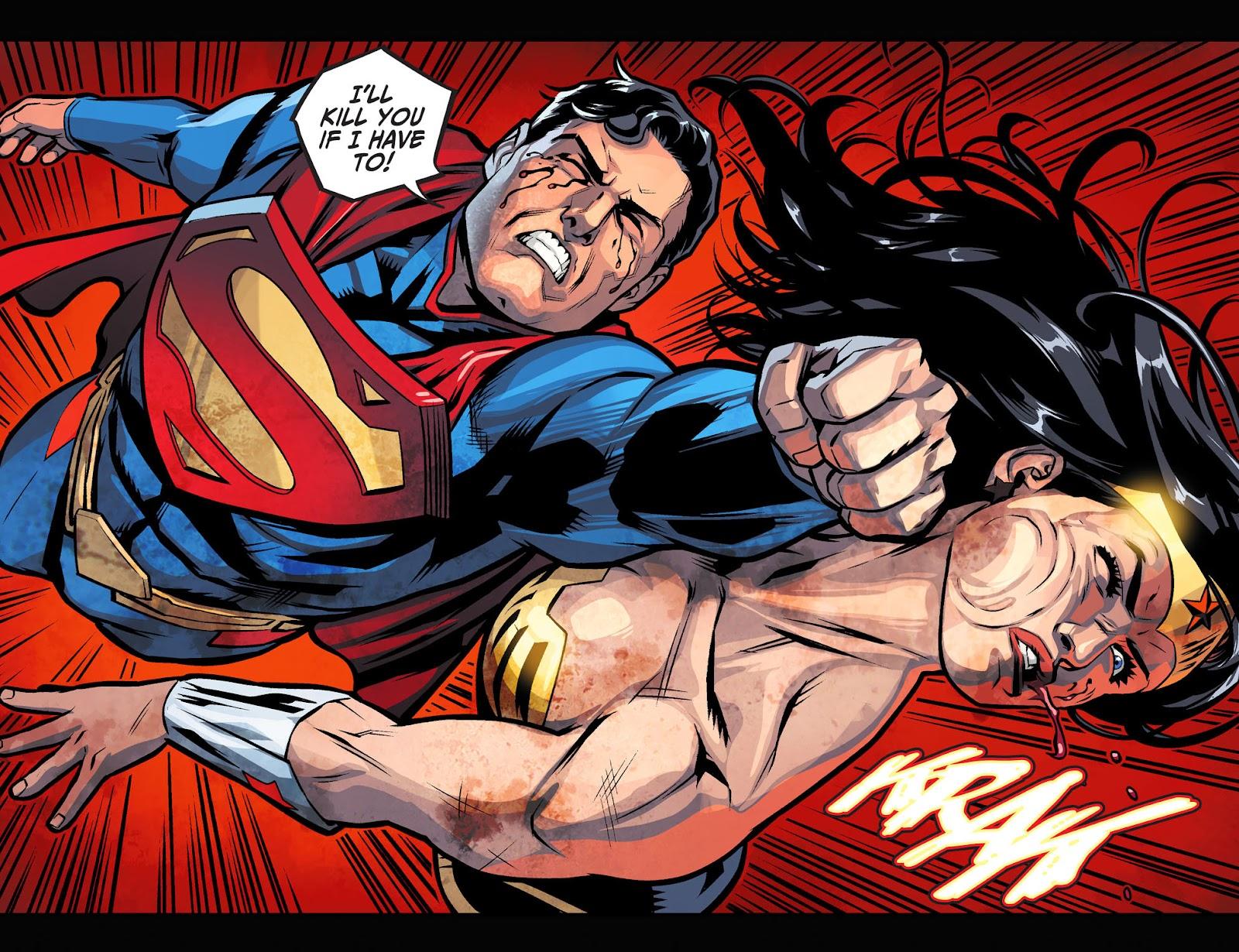 Injustice: Gods Among Us Year Four Issue #9 #10 - English 12