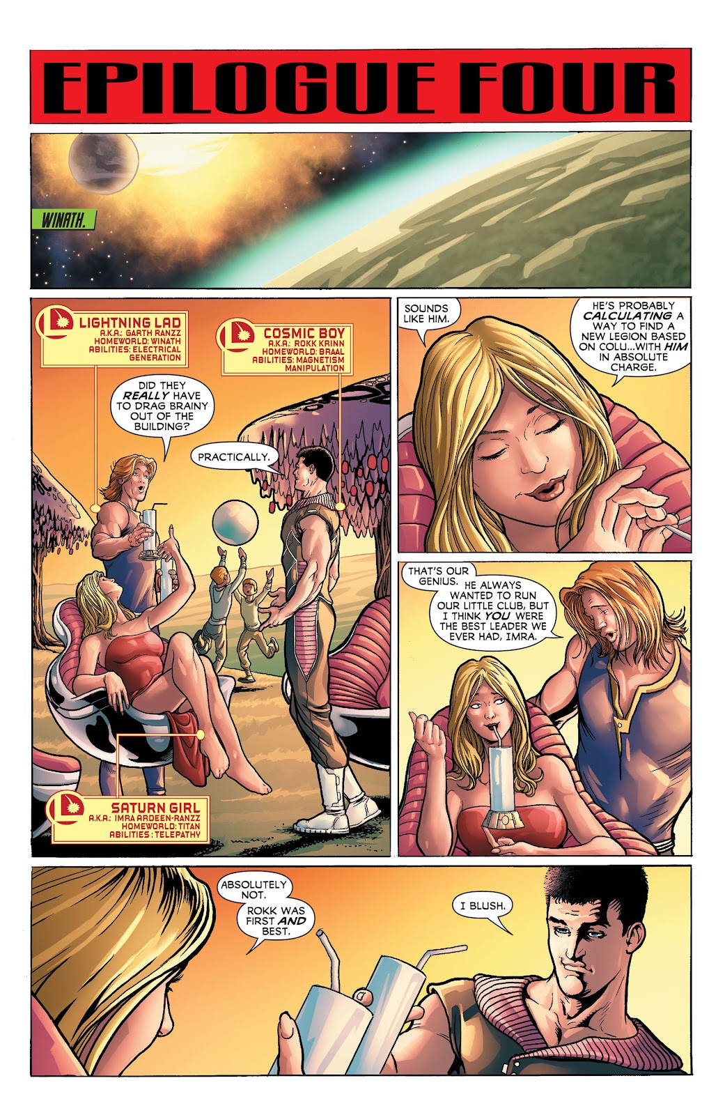 Legion of Super-Heroes (2011) Issue #23 #24 - English 18